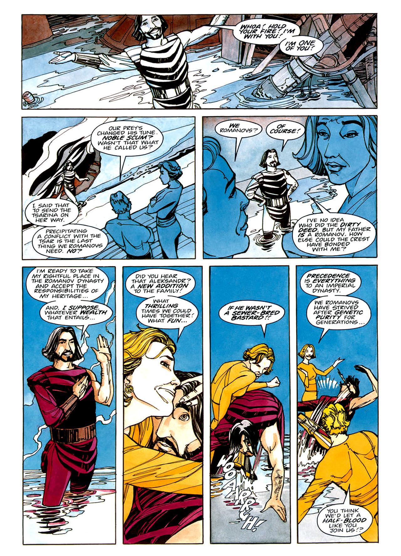 Read online Nikolai Dante comic -  Issue # TPB 1 - 38