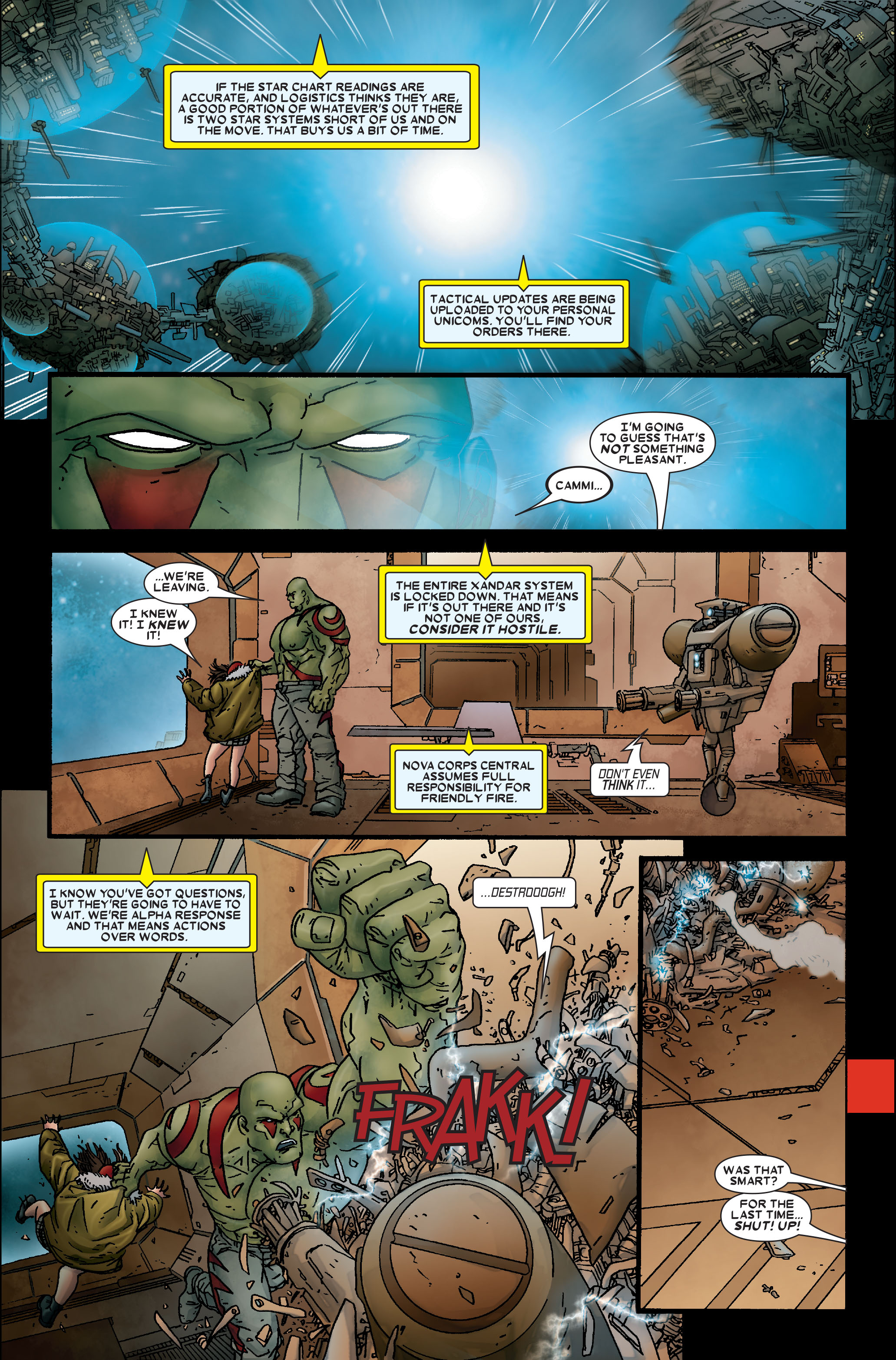 Read online Annihilation: Prologue comic -  Issue #Annihilation: Prologue Full - 16