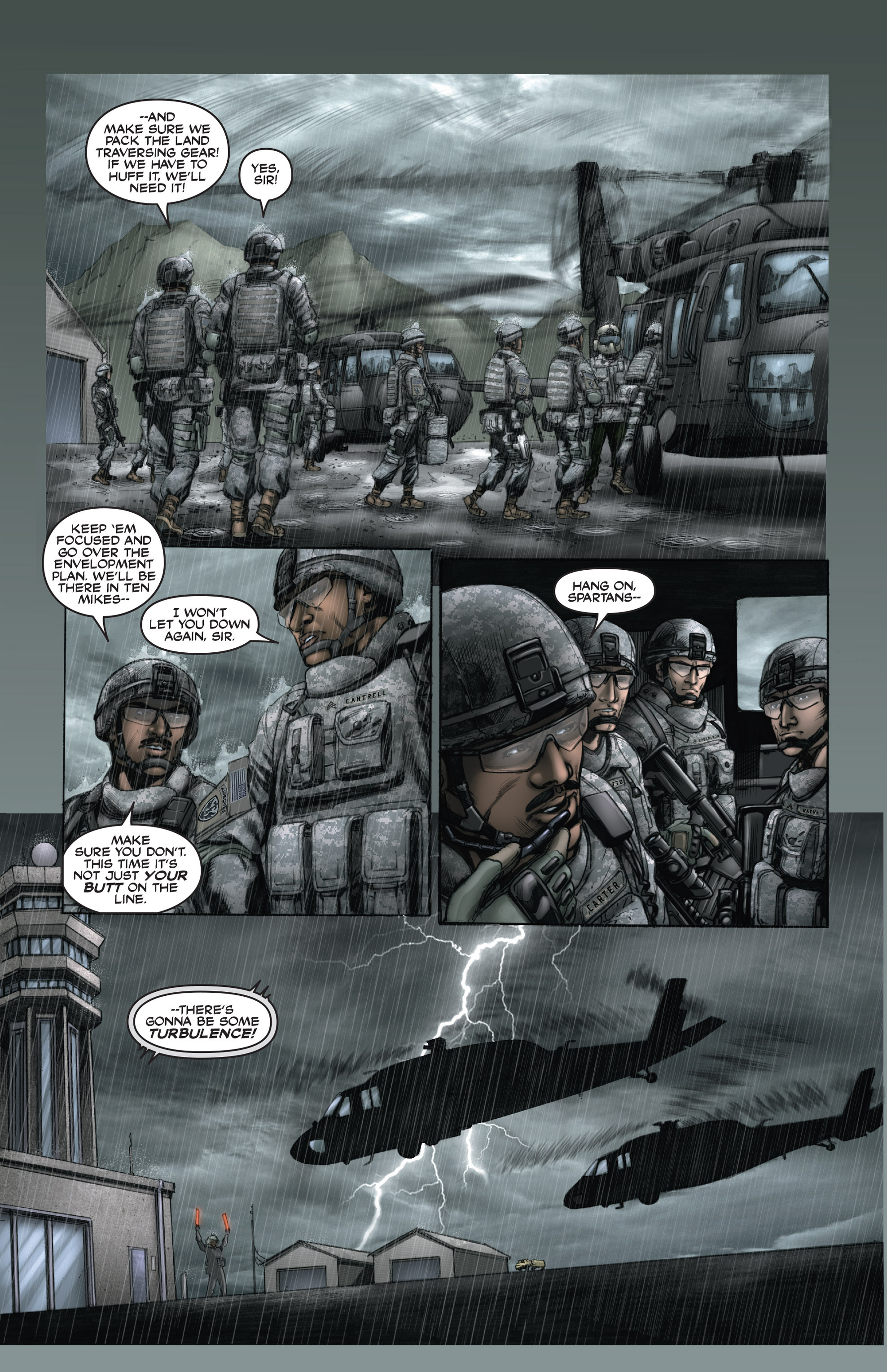 Read online America's Army comic -  Issue #15 - 6