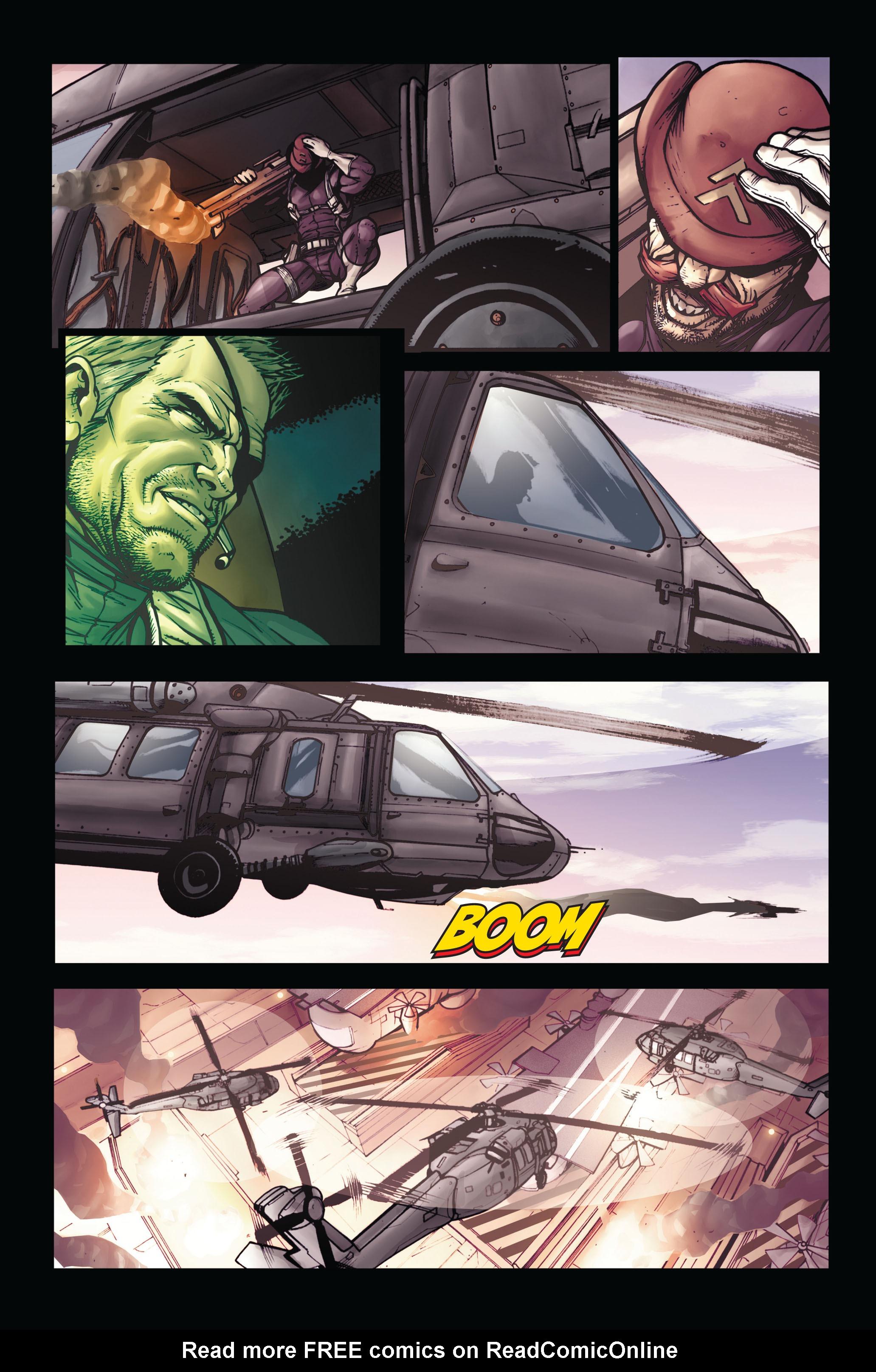 Read online Secret Warriors comic -  Issue #5 - 12