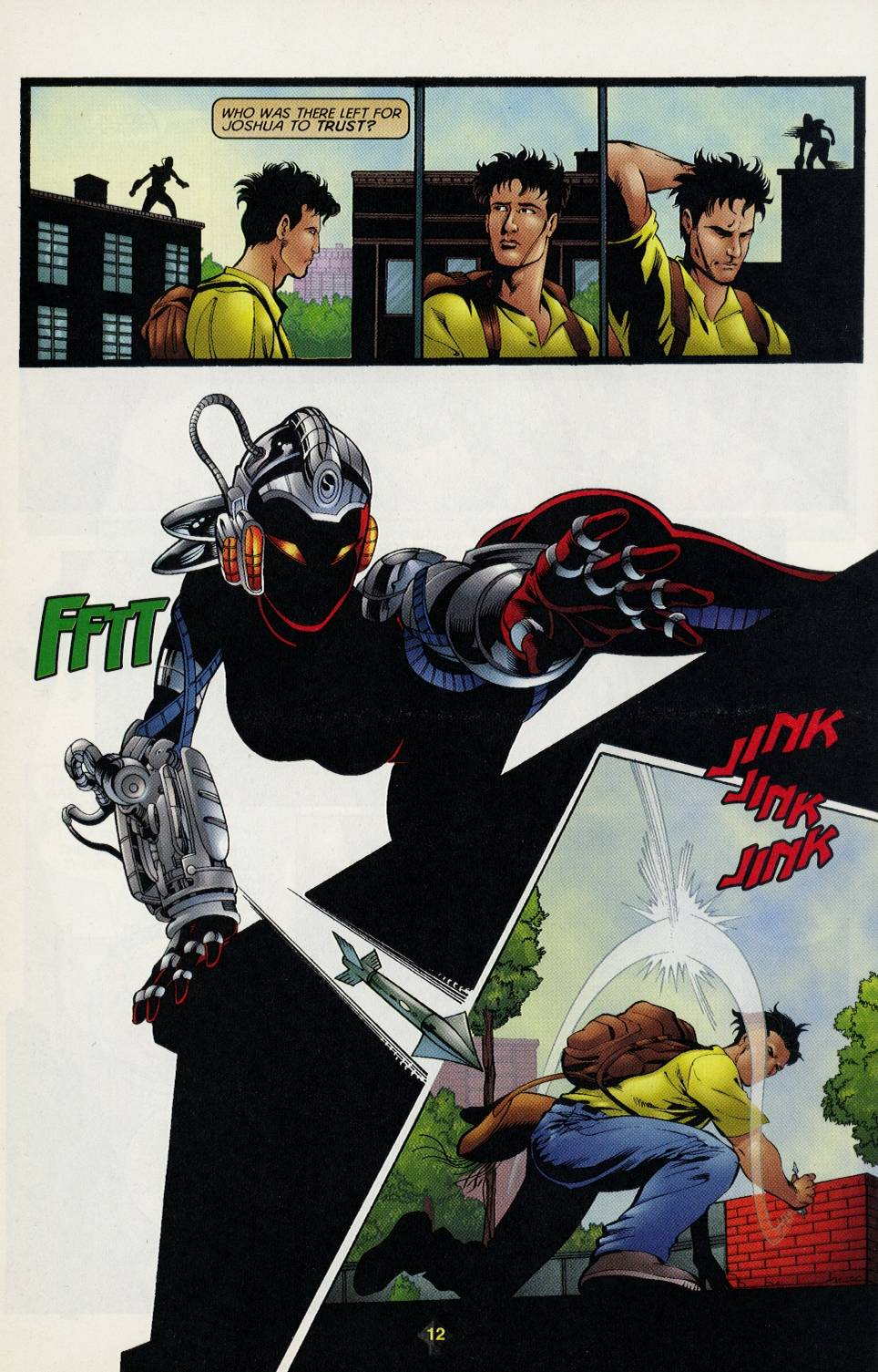 Read online Turok comic -  Issue #3 - 12