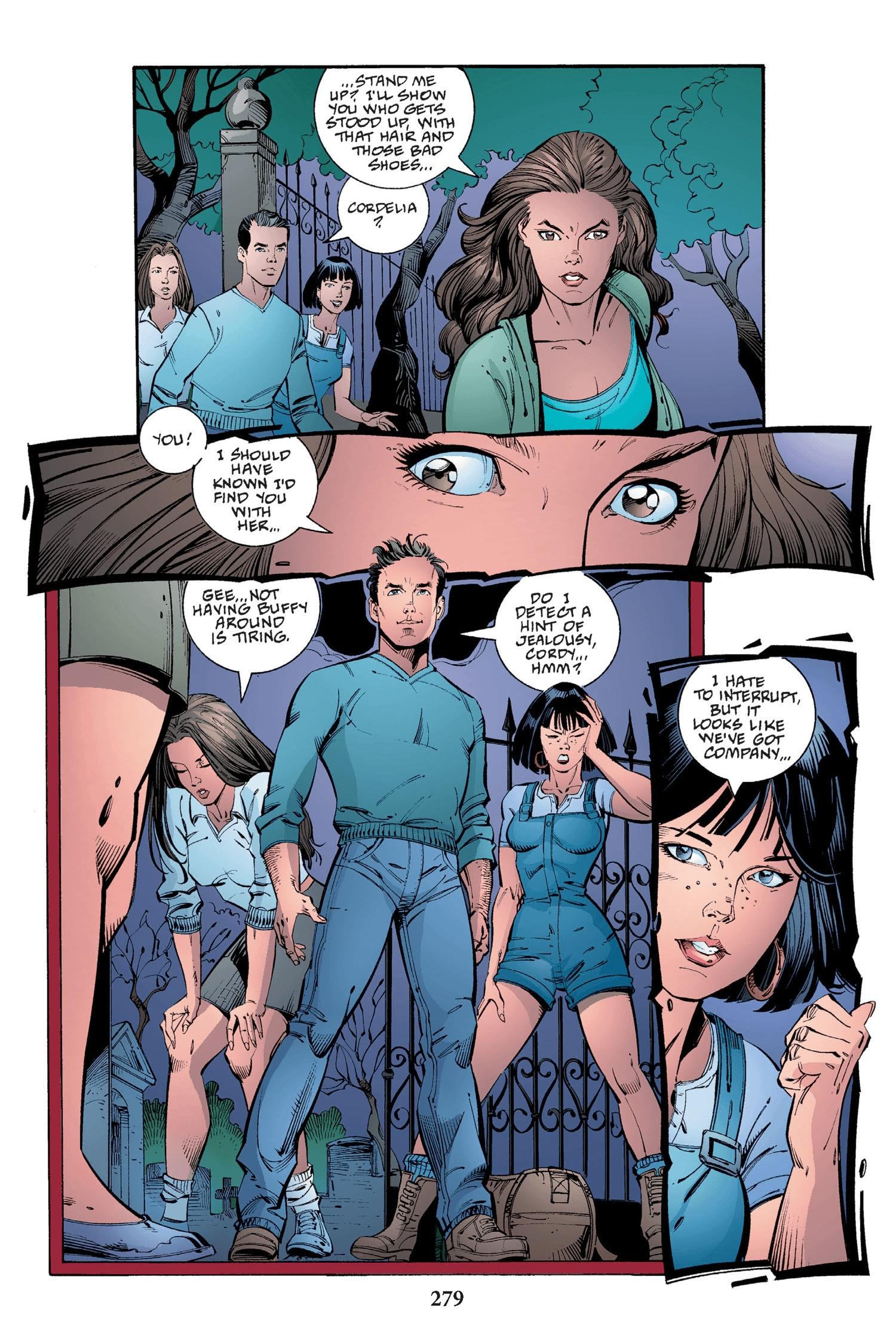 Read online Buffy the Vampire Slayer: Omnibus comic -  Issue # TPB 2 - 271