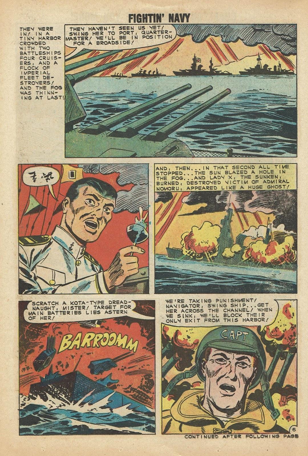 Read online Fightin' Navy comic -  Issue #97 - 14