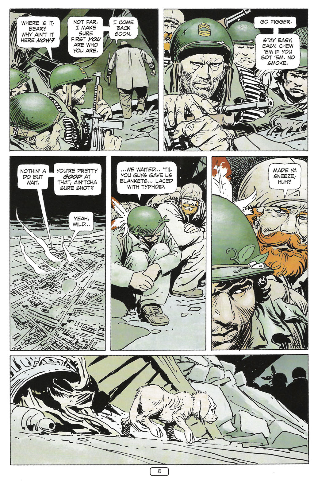 Read online Sgt. Rock: The Prophecy comic -  Issue #1 - 10