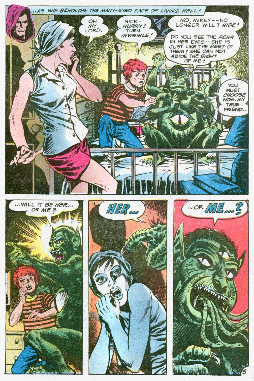 Read online Secrets of Haunted House comic -  Issue #26 - 31
