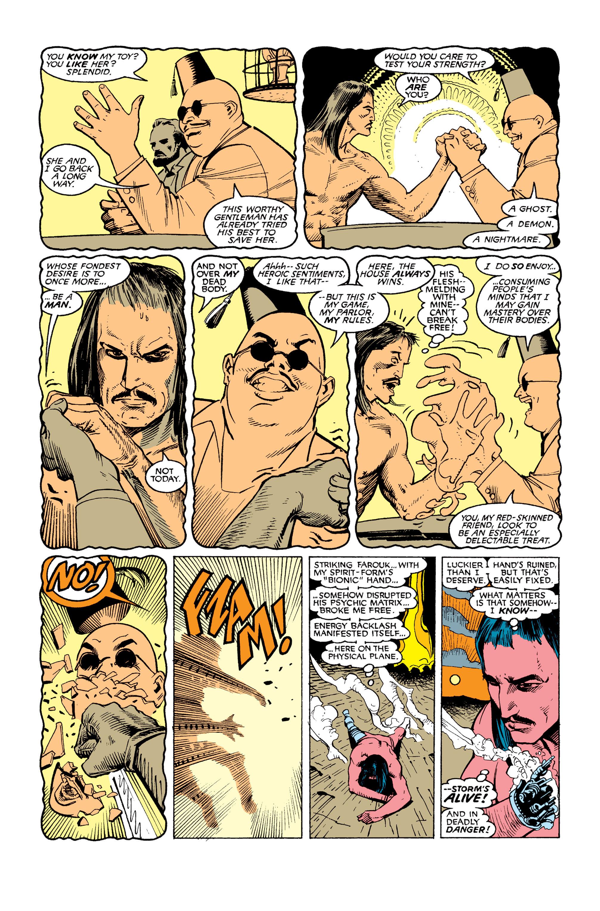 Read online Uncanny X-Men (1963) comic -  Issue #253 - 22