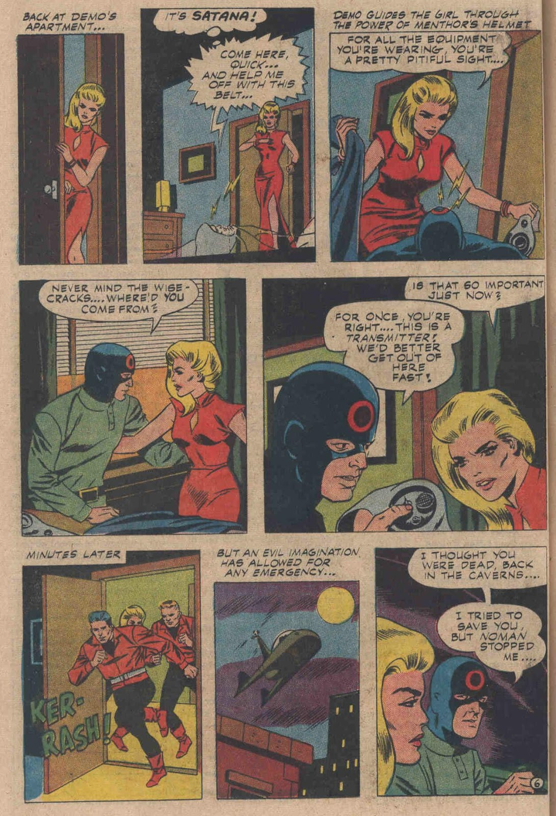 T.H.U.N.D.E.R. Agents (1965) issue 6 - Page 38