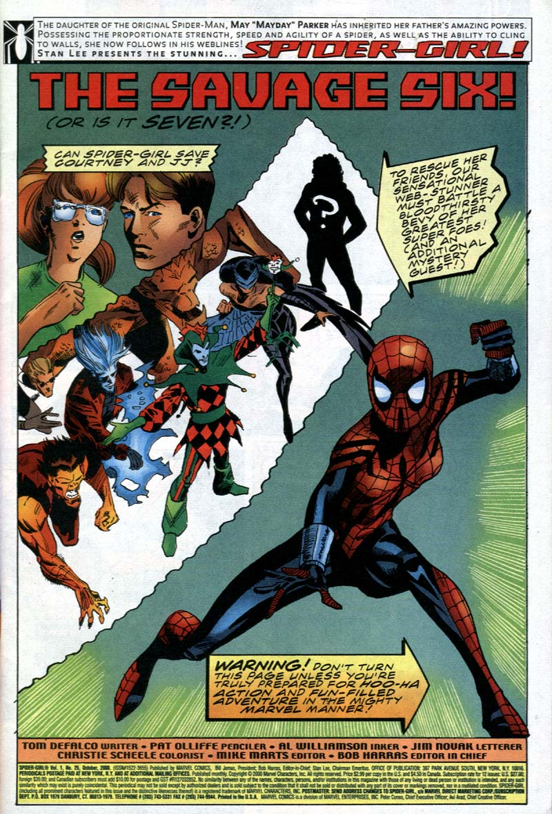 Spider-Girl (1998) Issue #25 #28 - English 2