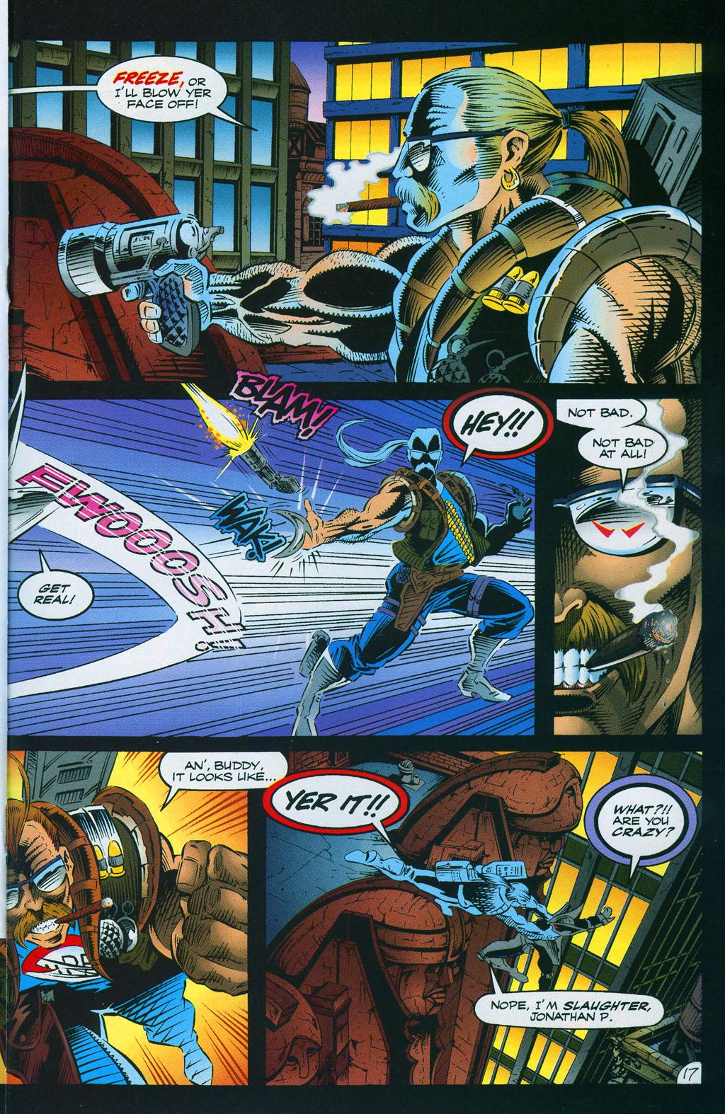Read online ShadowHawk comic -  Issue #7 - 24