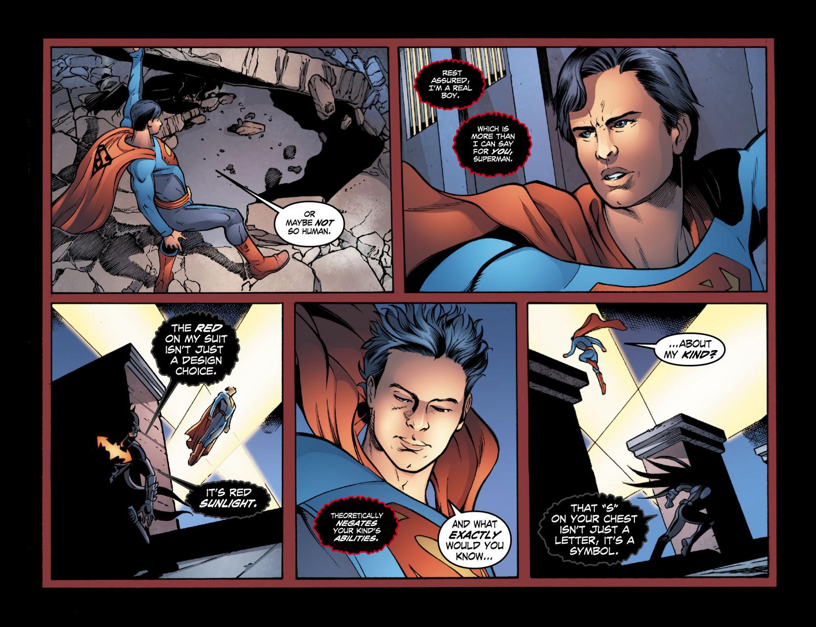 Read online Smallville: Season 11 comic -  Issue #16 - 11