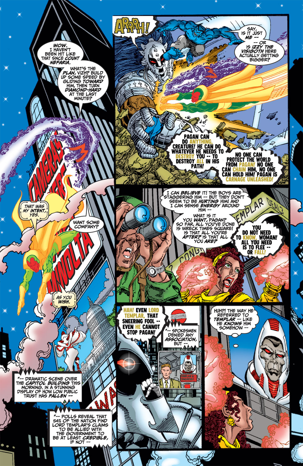 Read online Avengers (1998) comic -  Issue #14 - 17