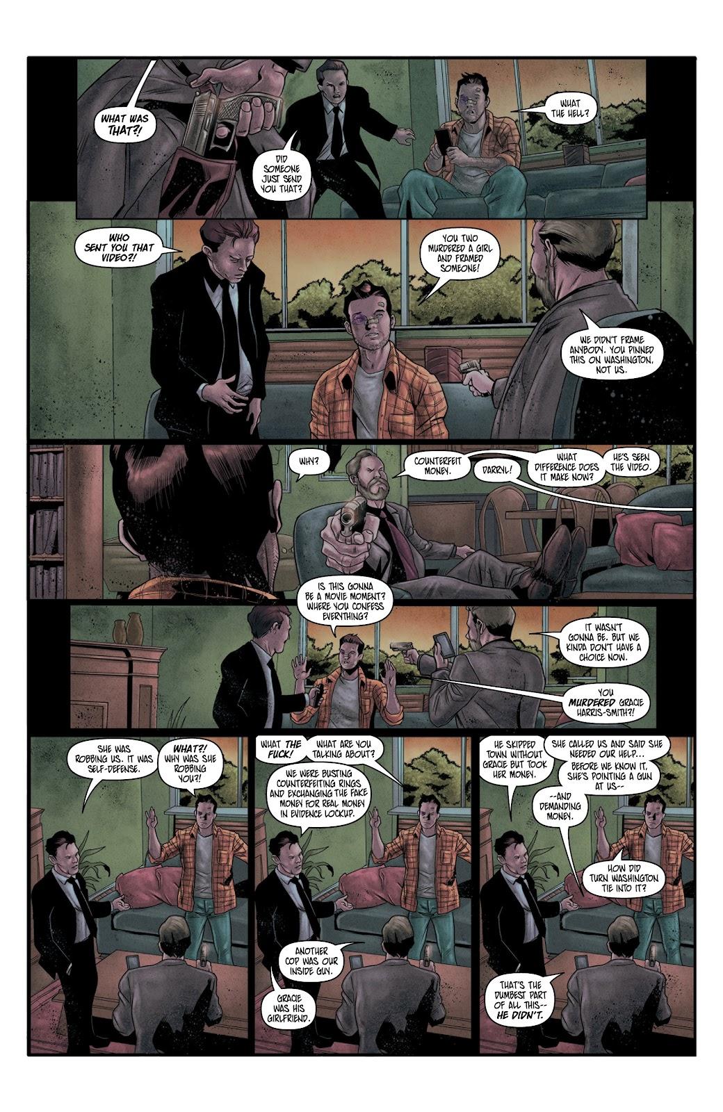 Read online Vindication comic -  Issue #4 - 13