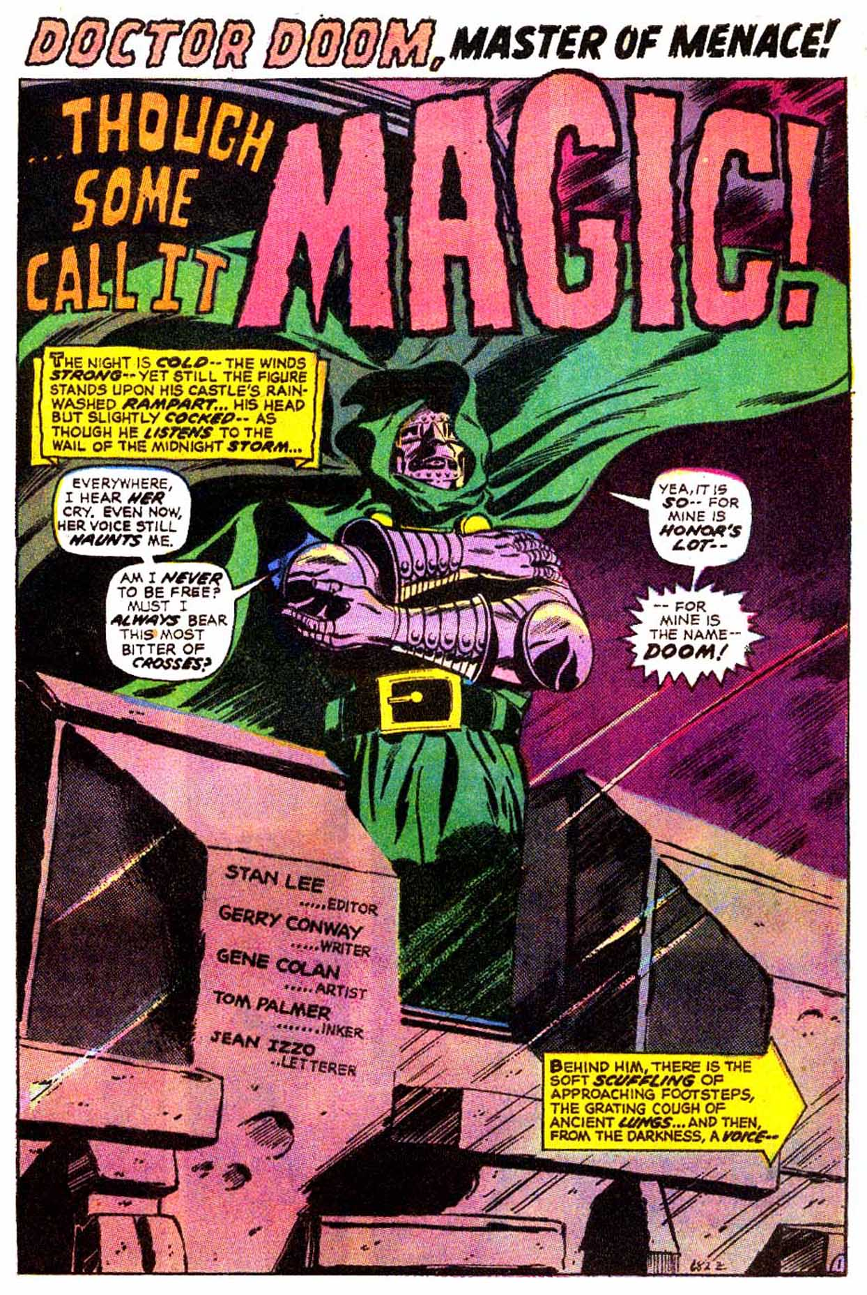 Read online Astonishing Tales (1970) comic -  Issue #8 - 13
