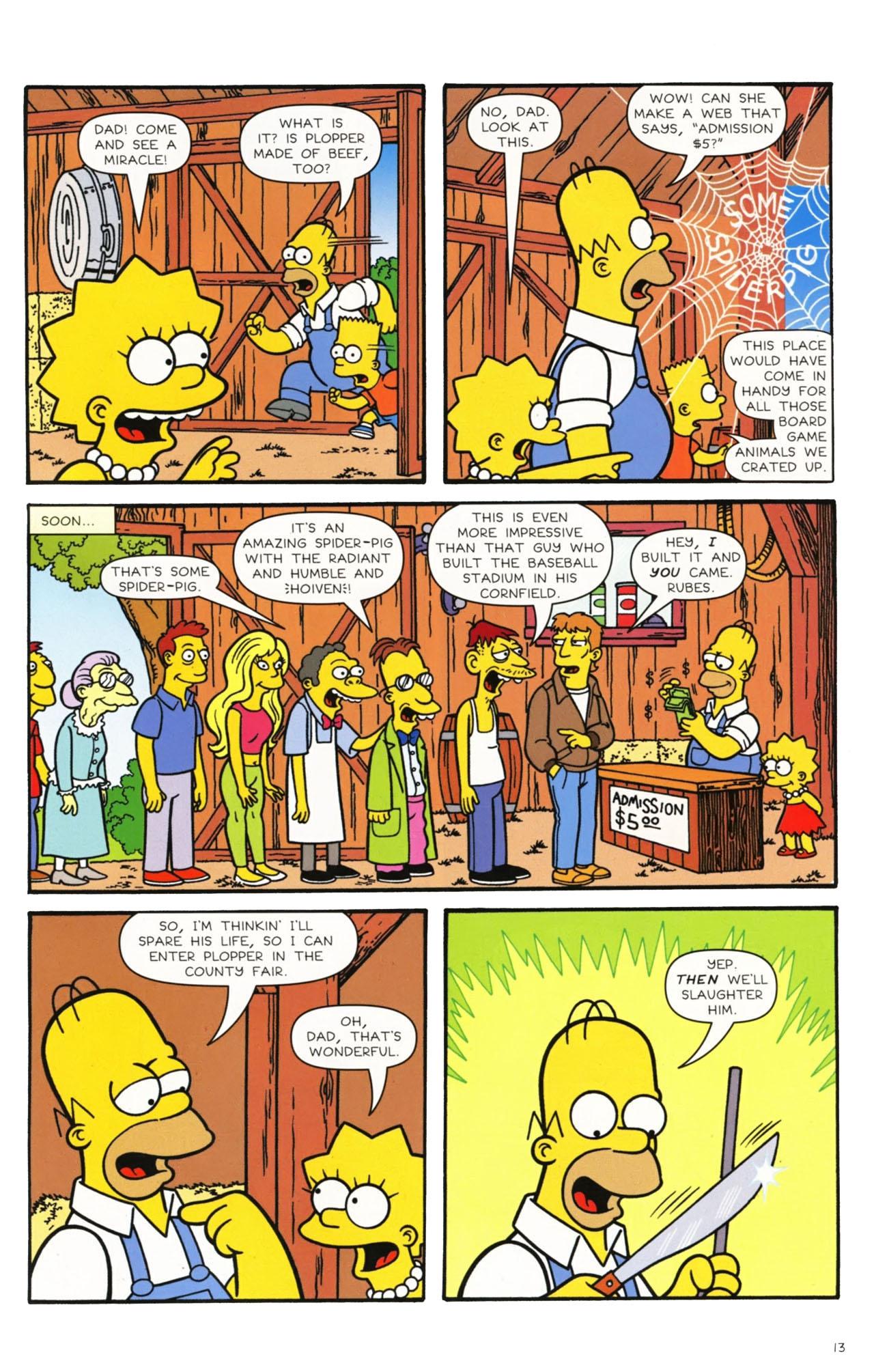 Read online Simpsons Comics comic -  Issue #160 - 11