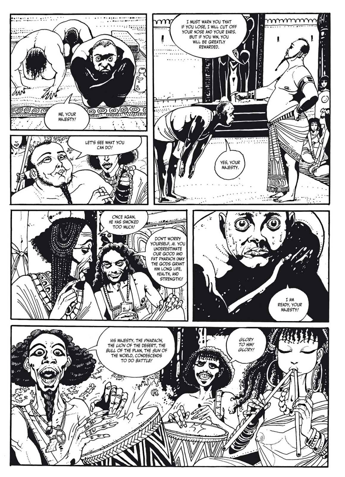 Read online The Egyptian Princesses comic -  Issue # TPB 1 (Part 2) - 67