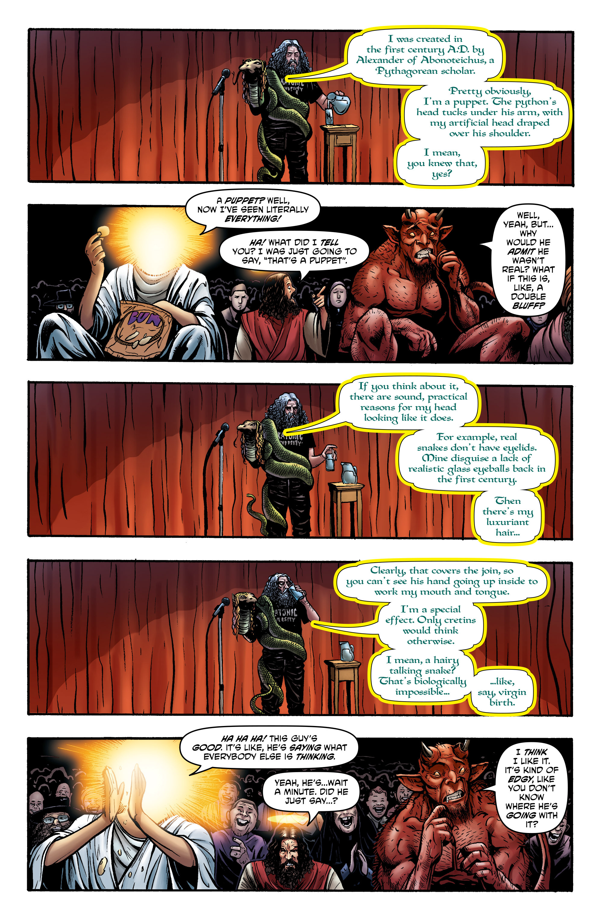 Read online God is Dead: Book of Acts comic -  Issue # Alpha - 33