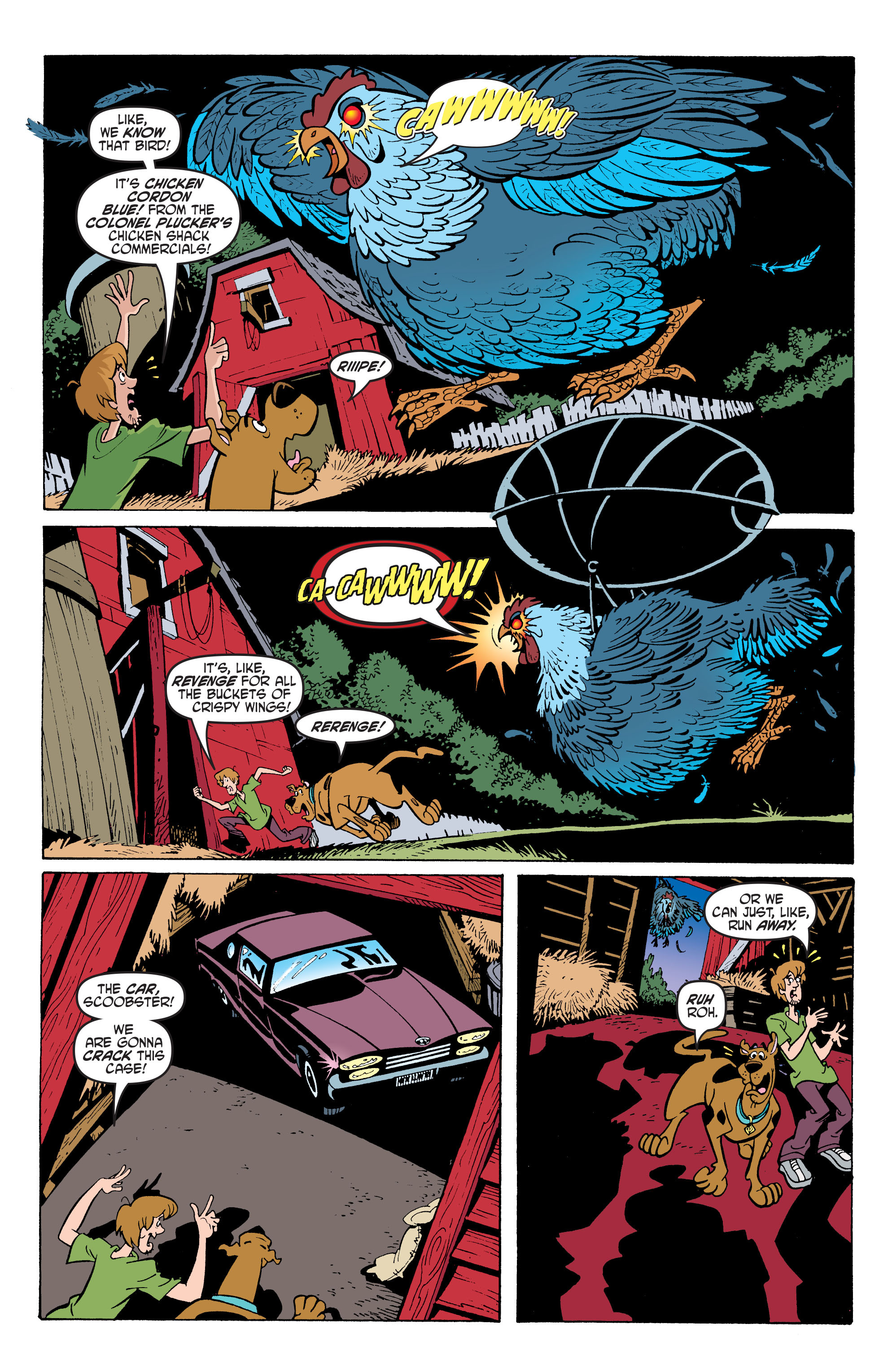 Read online Scooby-Doo: Where Are You? comic -  Issue #66 - 19