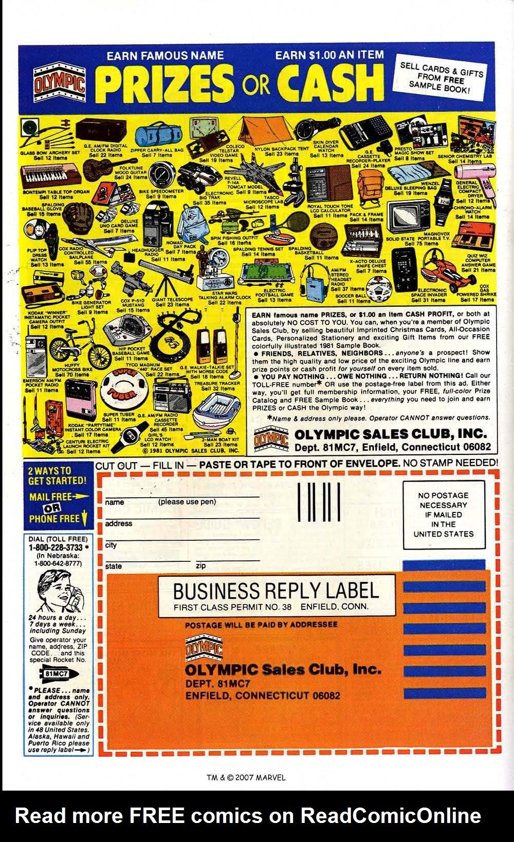 Read online Captain America (1968) comic -  Issue # _Annual 5 - 52