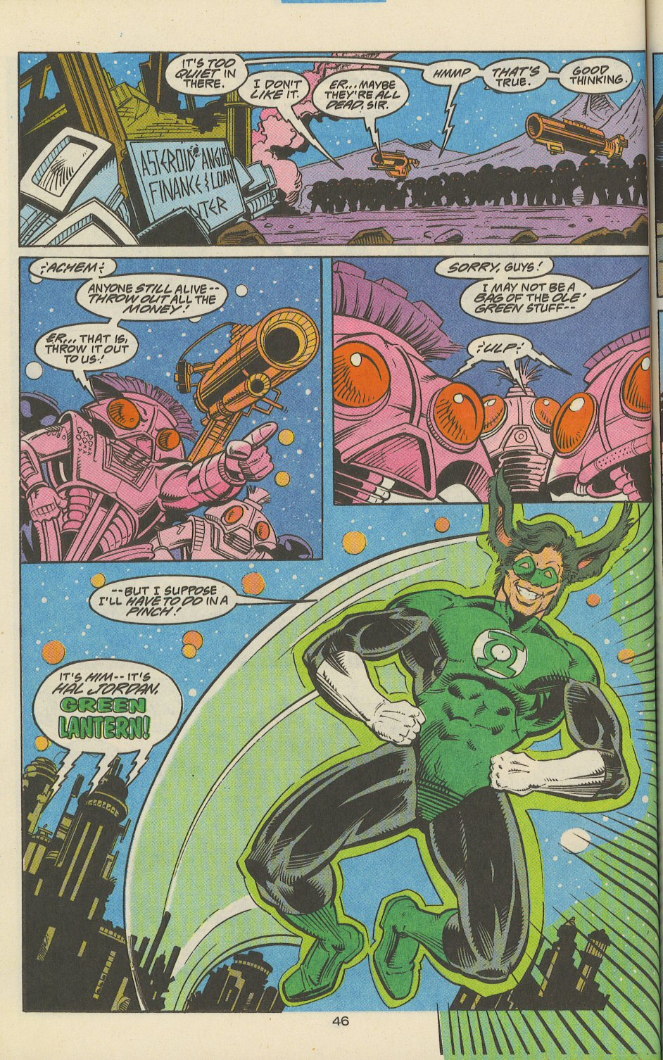 Green Lantern Corps Quarterly issue 2 - Page 47