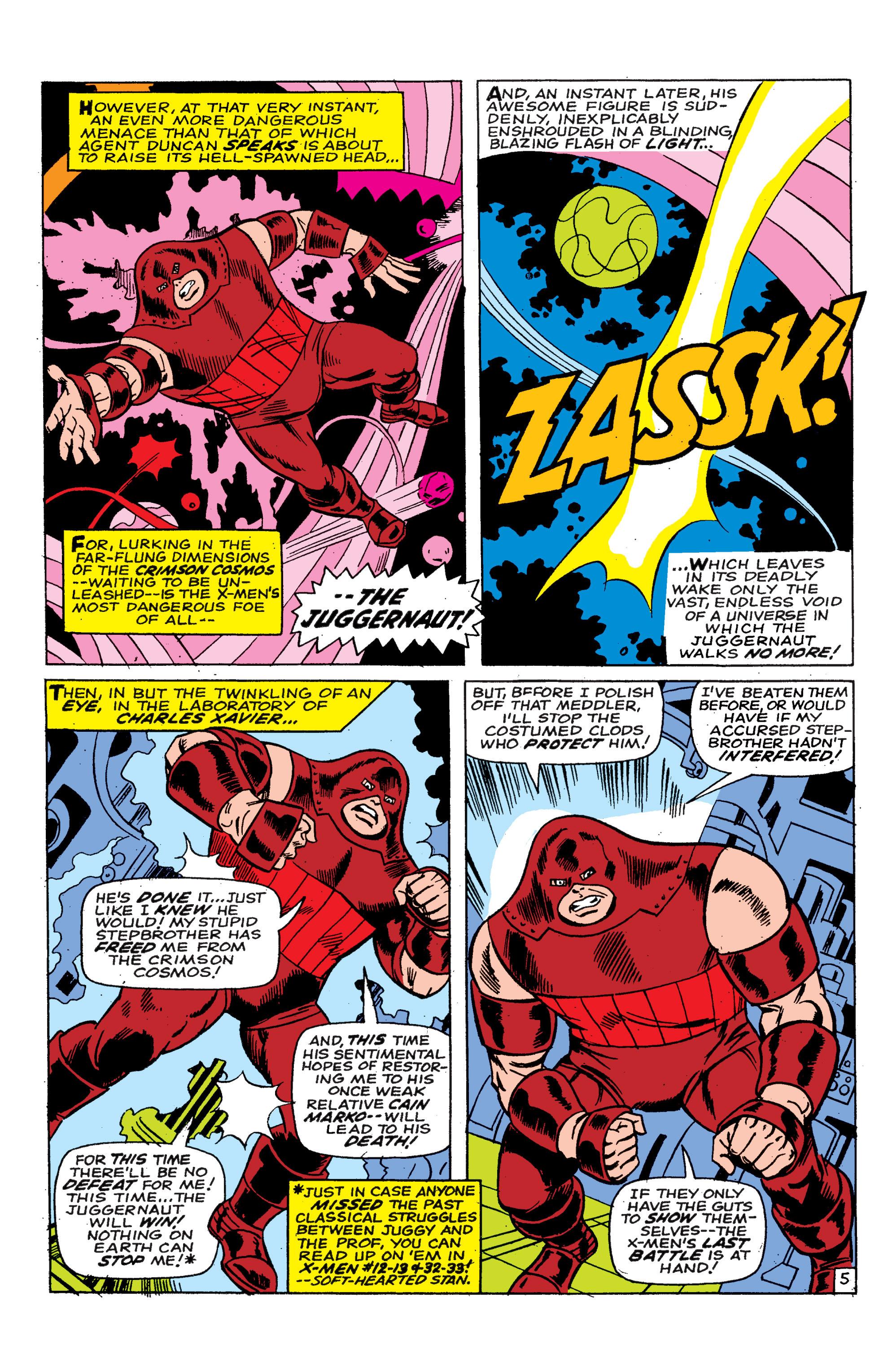 Read online Uncanny X-Men (1963) comic -  Issue #46 - 6