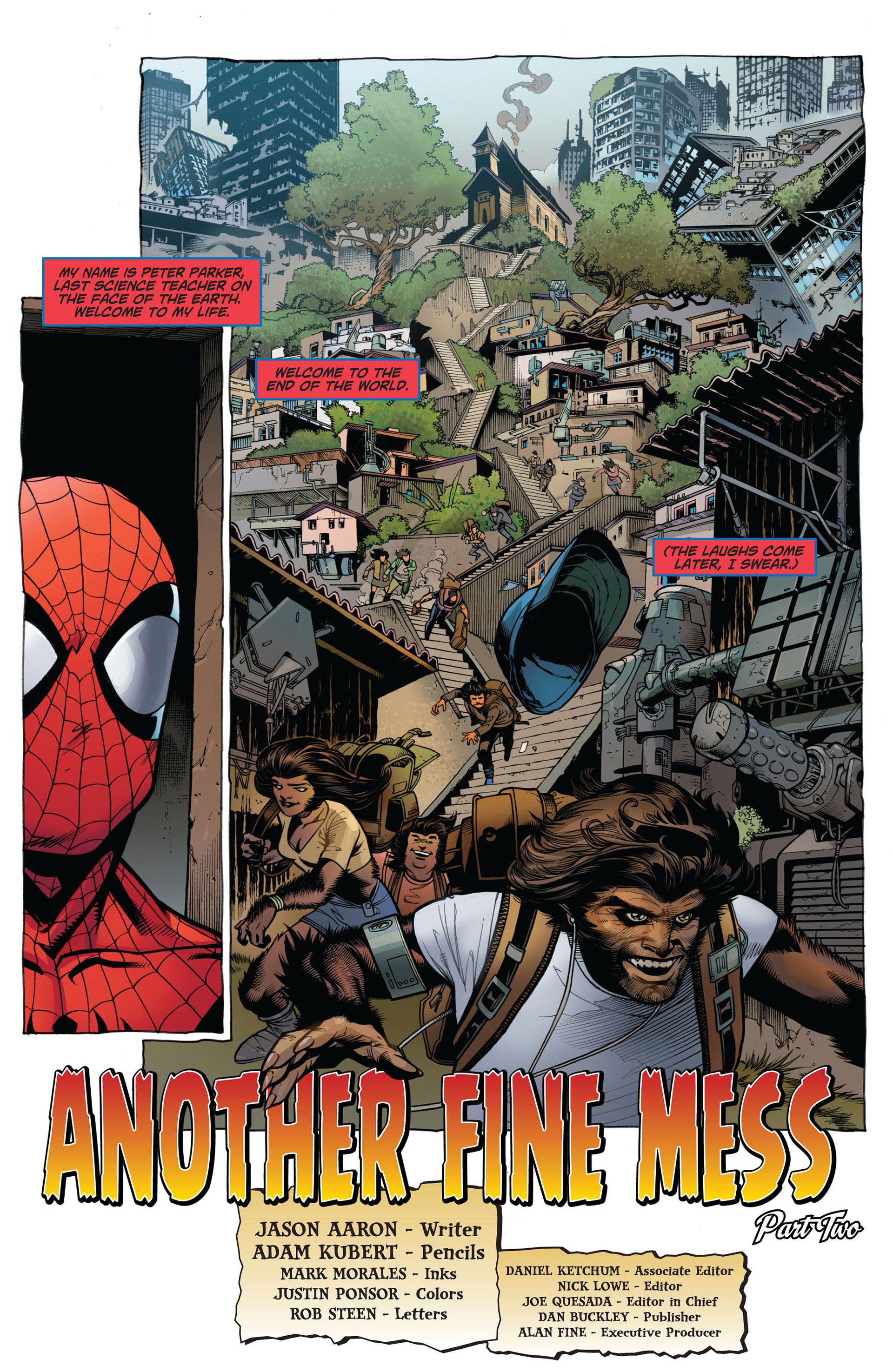Read online Astonishing Spider-Man & Wolverine comic -  Issue #2 - 4
