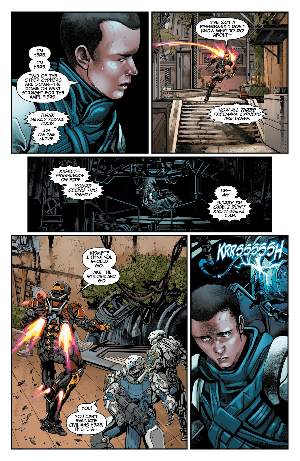 Read online Anthem comic -  Issue #3 - 12