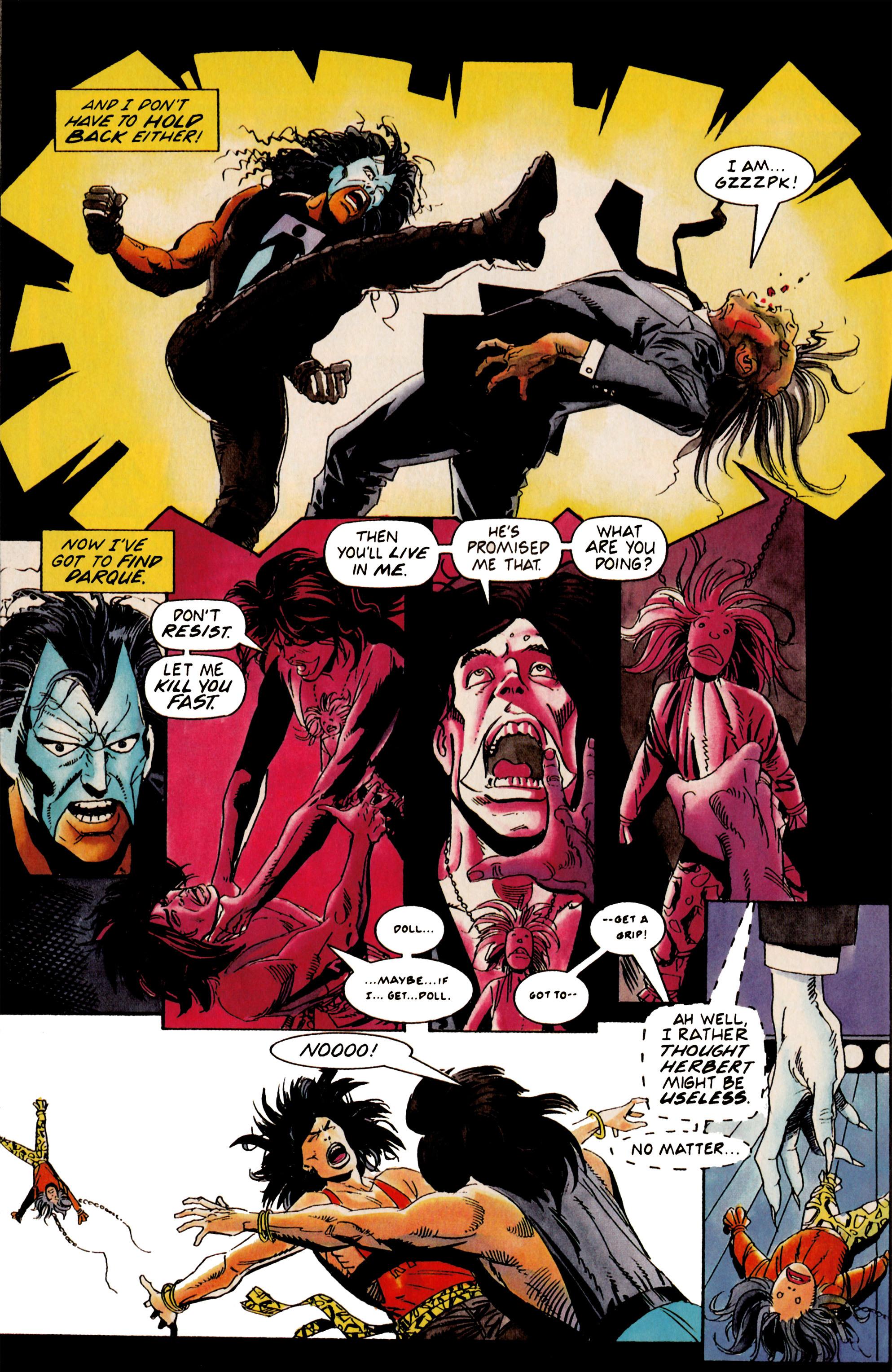 Read online Shadowman (1992) comic -  Issue #19 - 20