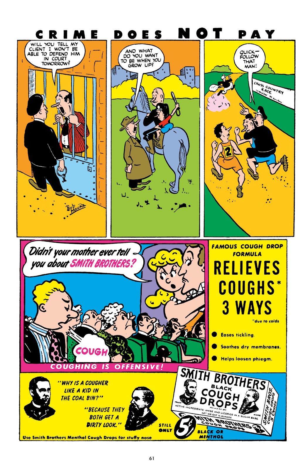 Read online Crime Does Not Pay Archives comic -  Issue # TPB 8 (Part 1) - 62