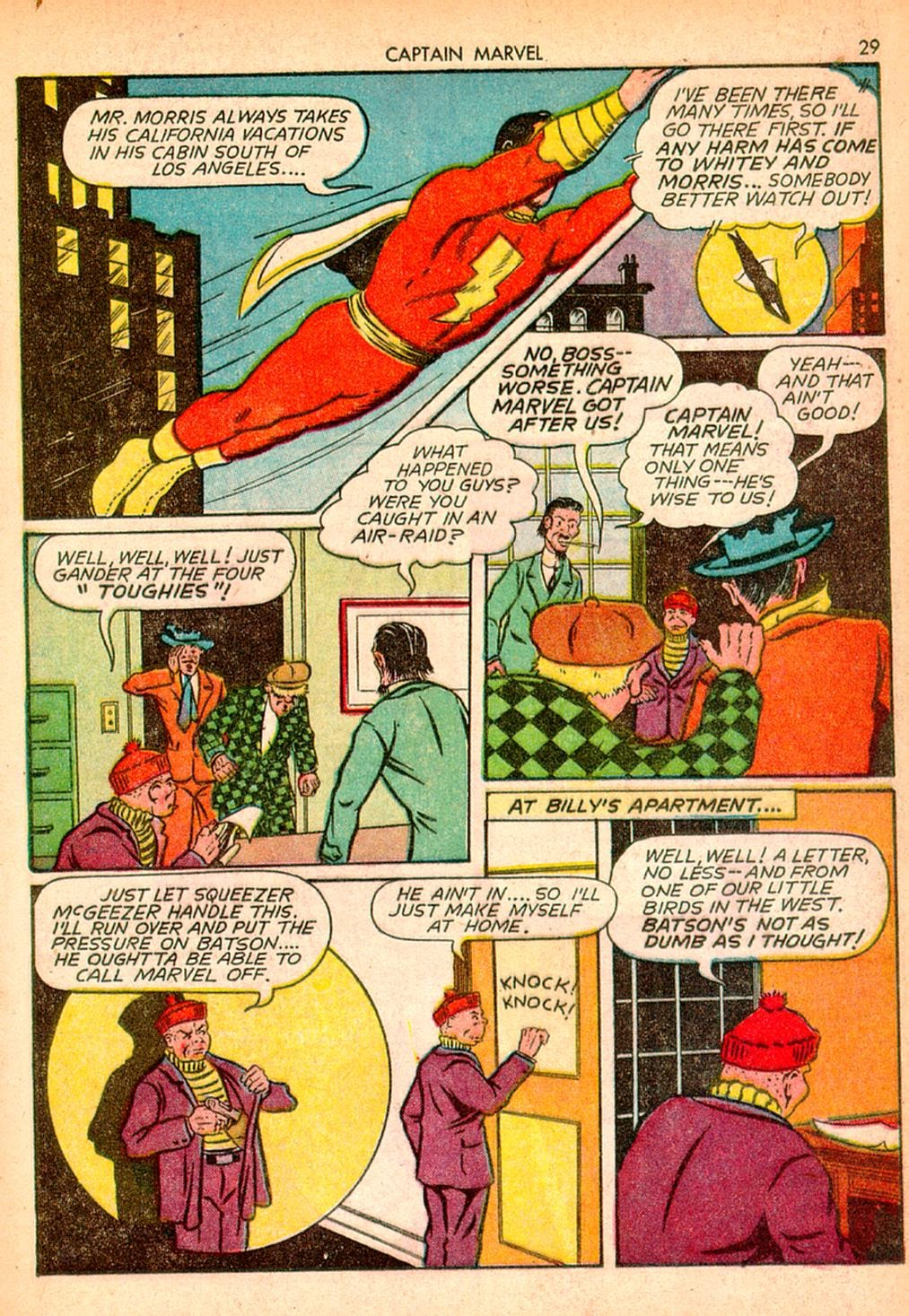 Captain Marvel Adventures issue 10 - Page 29