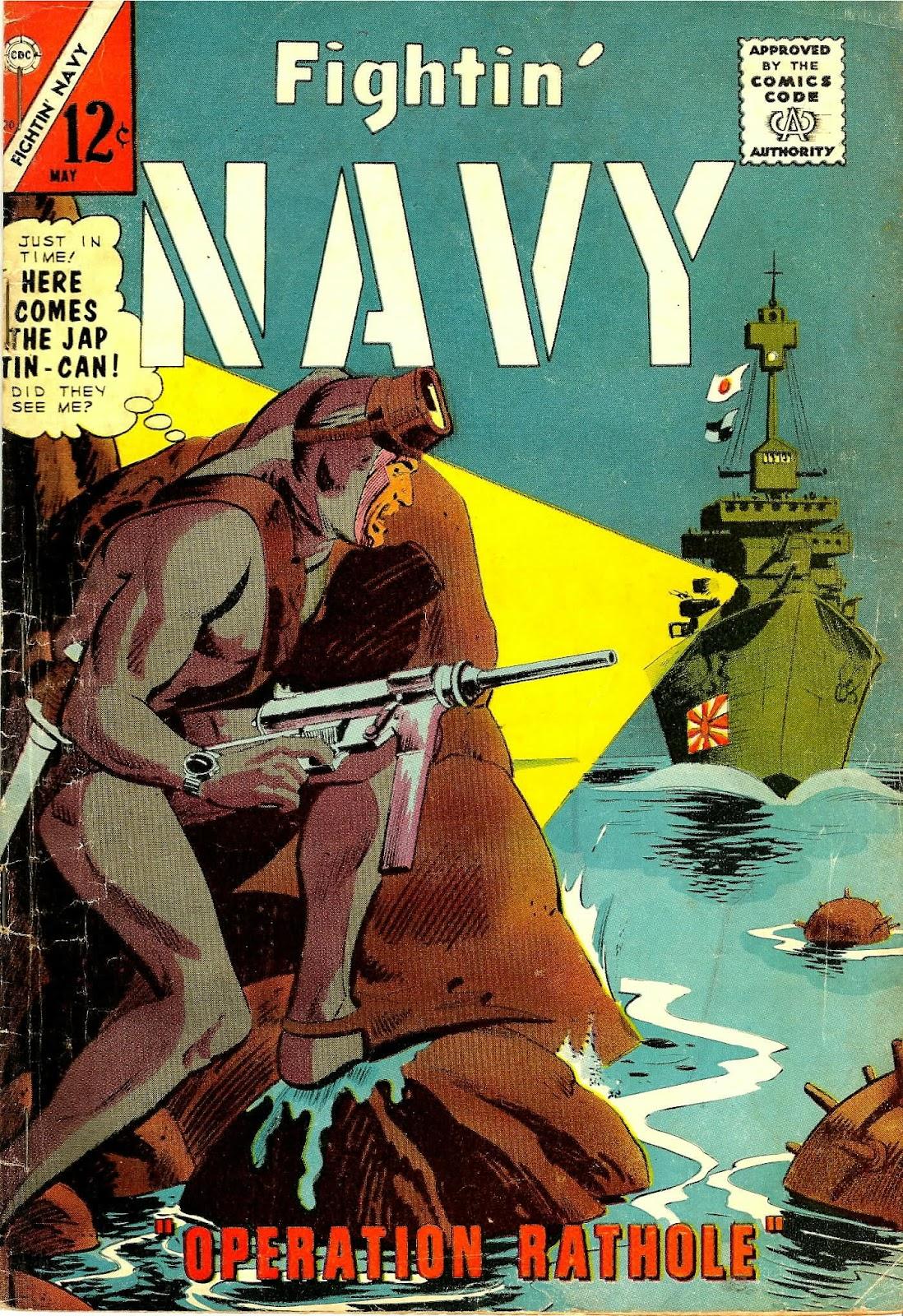 Read online Fightin' Navy comic -  Issue #120 - 1
