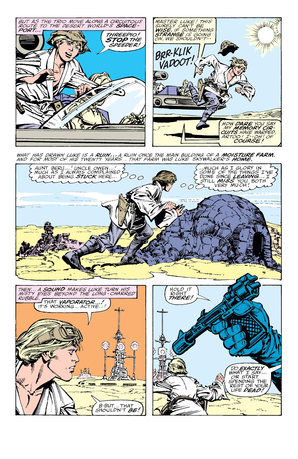 Read online Star Wars Legends: The Original Marvel Years - Epic Collection comic -  Issue # TPB 2 (Part 2) - 37