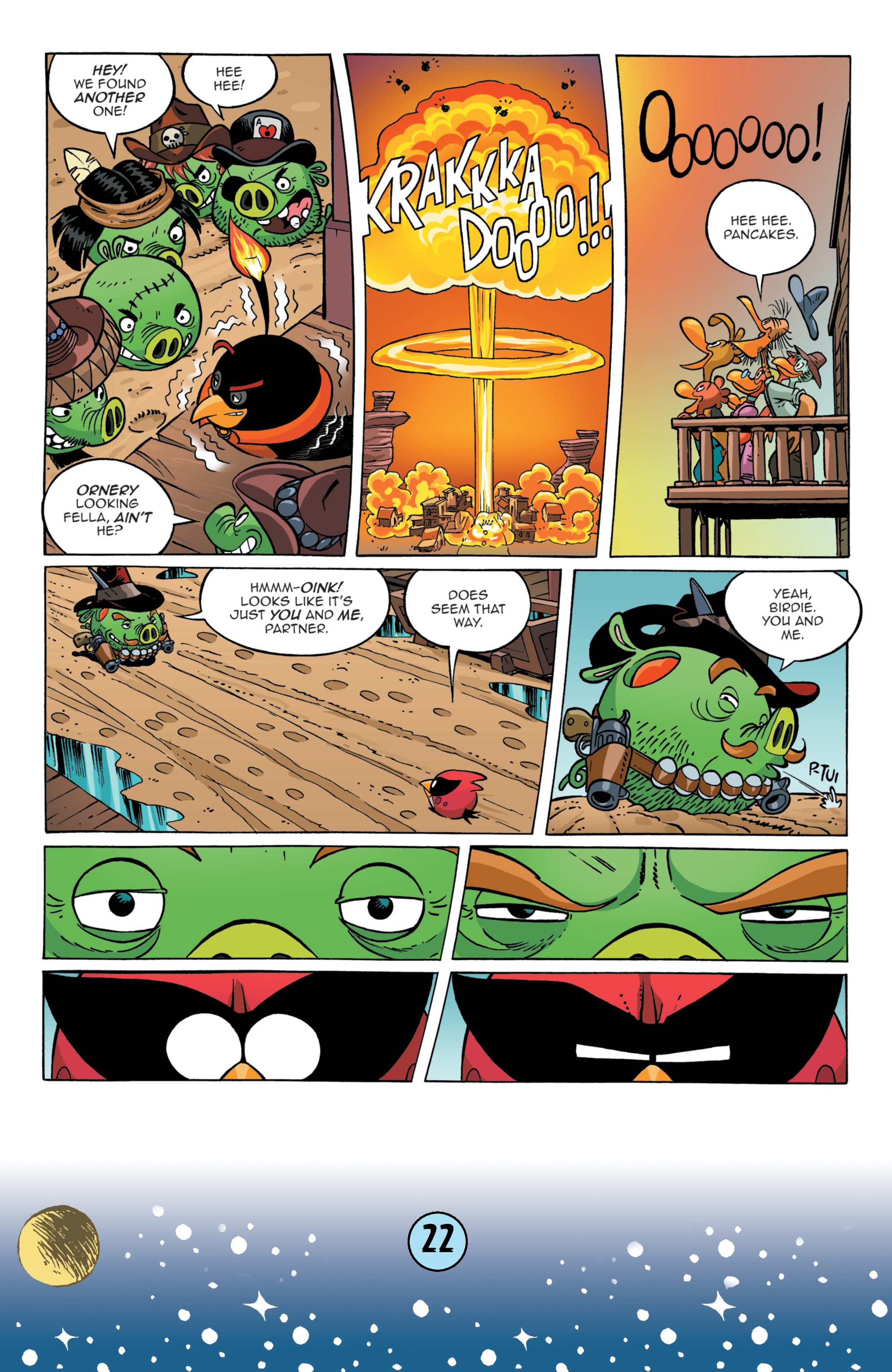 Read online Angry Birds Comics (2016) comic -  Issue #9 - 24