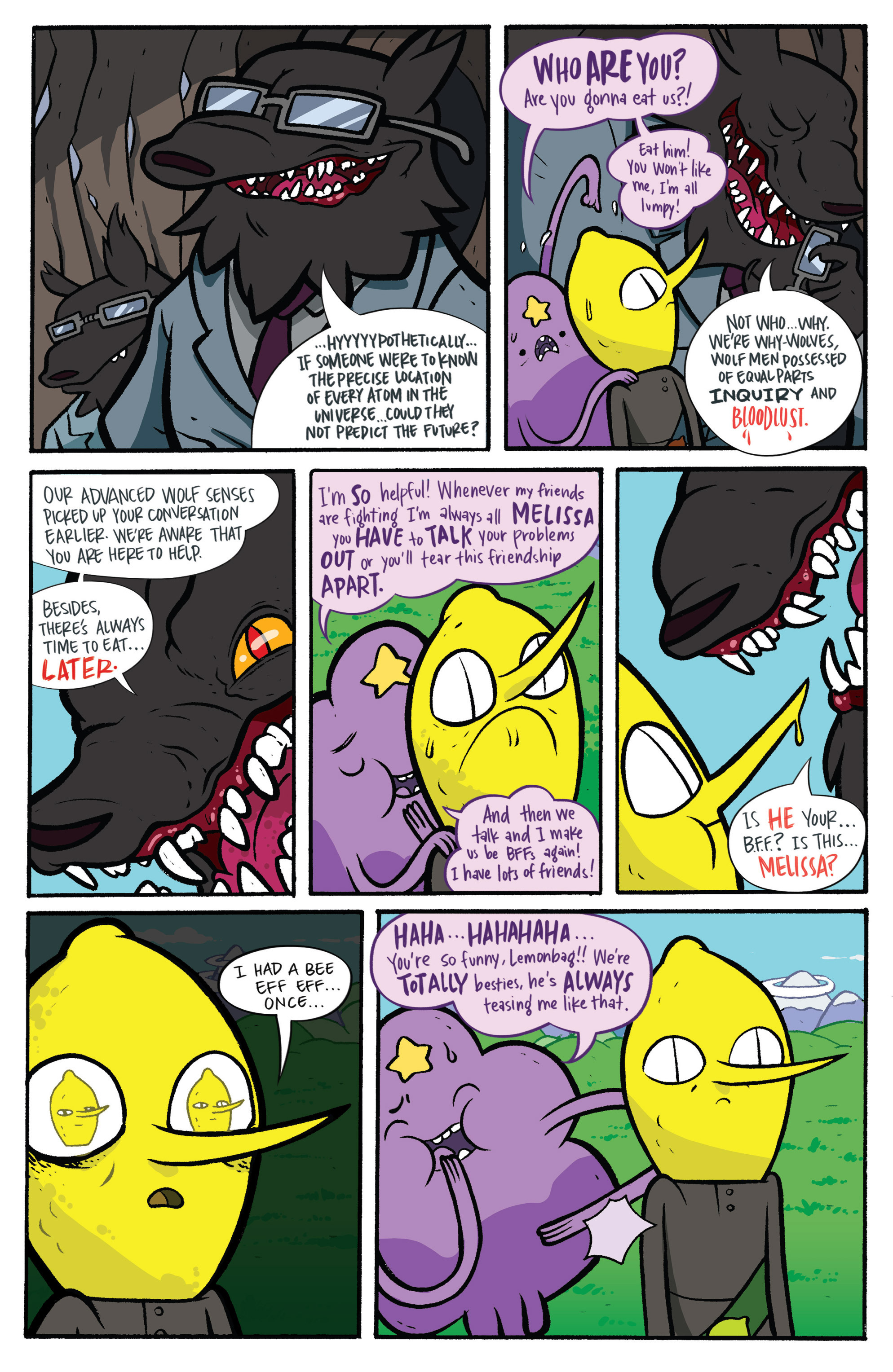 Read online Adventure Time: Candy Capers comic -  Issue #3 - 20