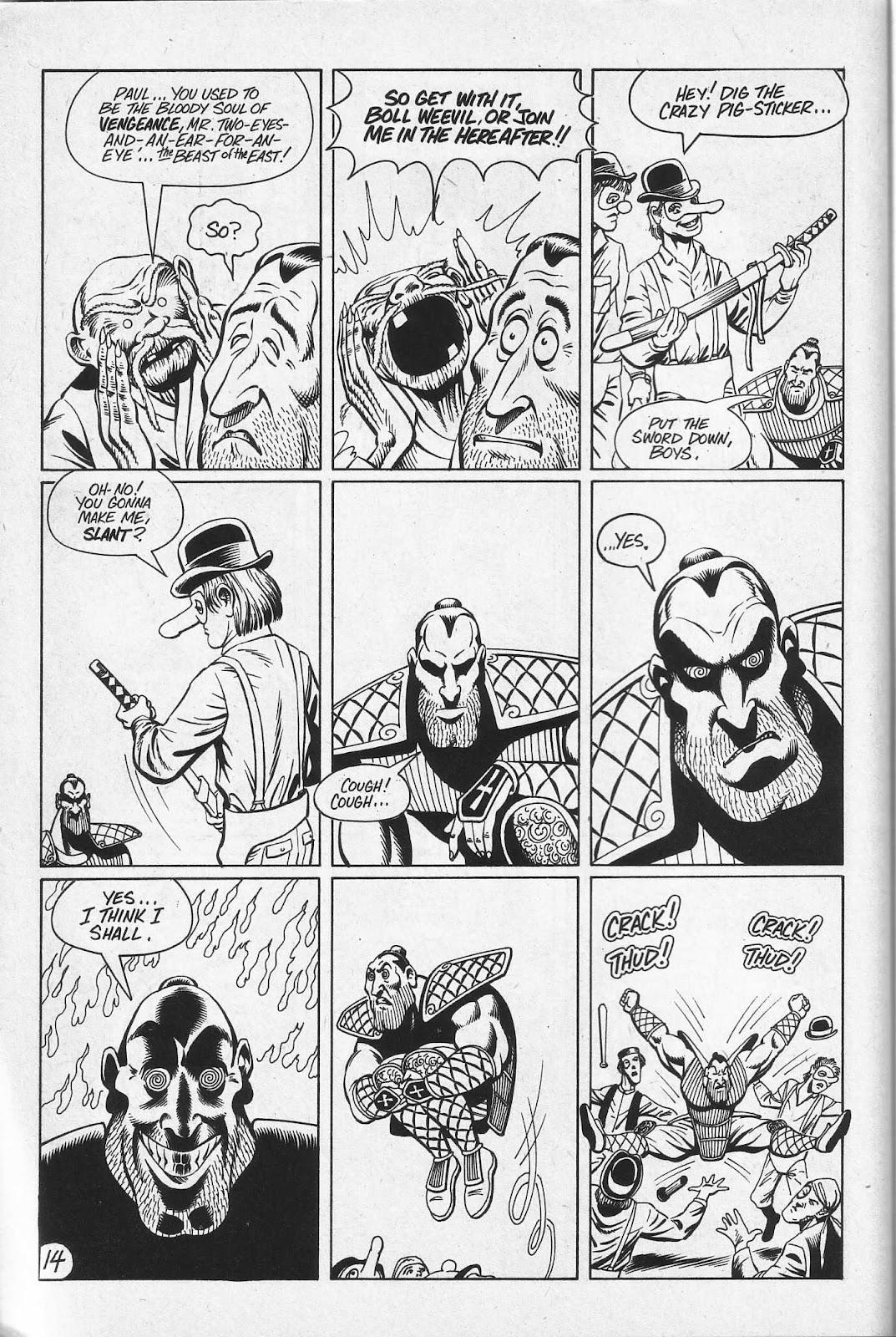 Read online Paul the Samurai (1991) comic -  Issue # TPB - 80