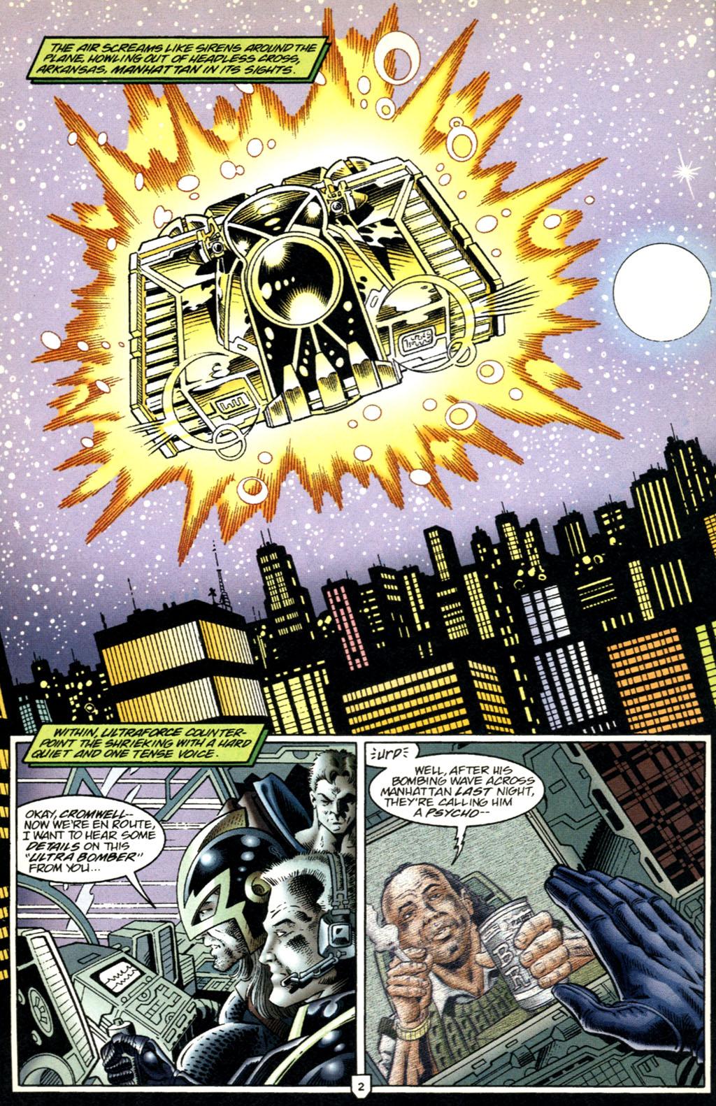 Read online UltraForce (1995) comic -  Issue #2 - 3
