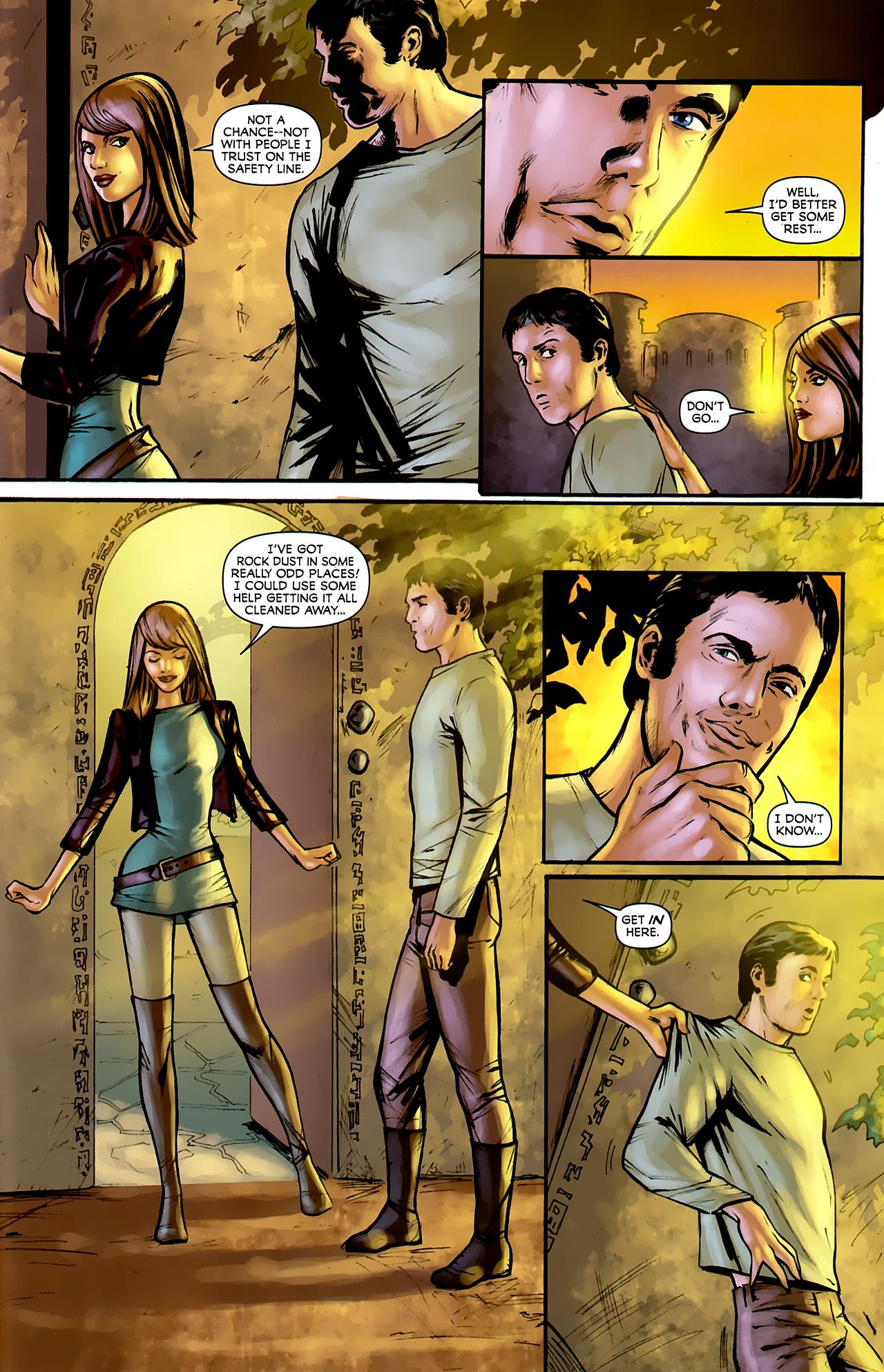Read online Stargate: Daniel Jackson comic -  Issue #3 - 19
