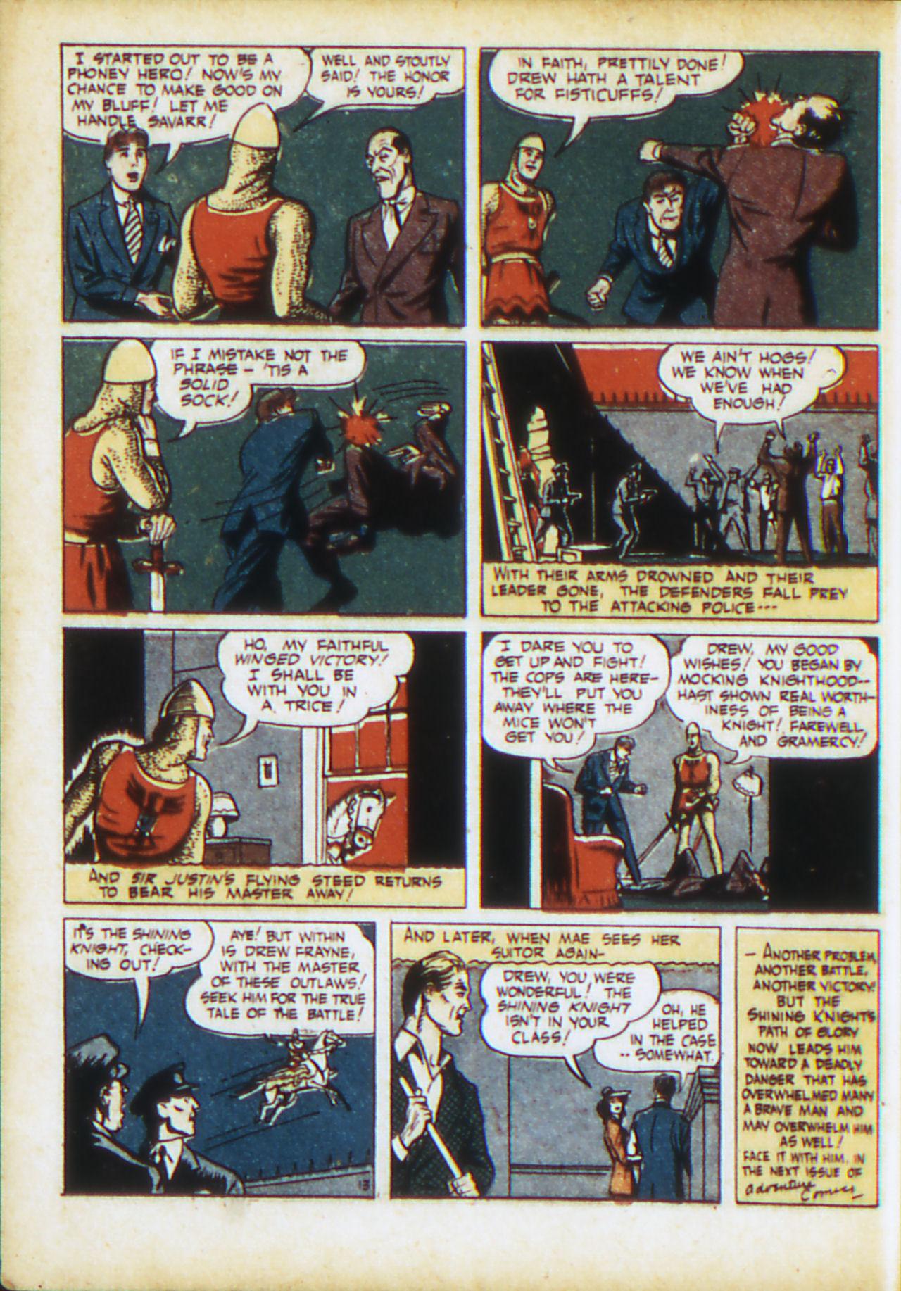 Read online Adventure Comics (1938) comic -  Issue #71 - 31