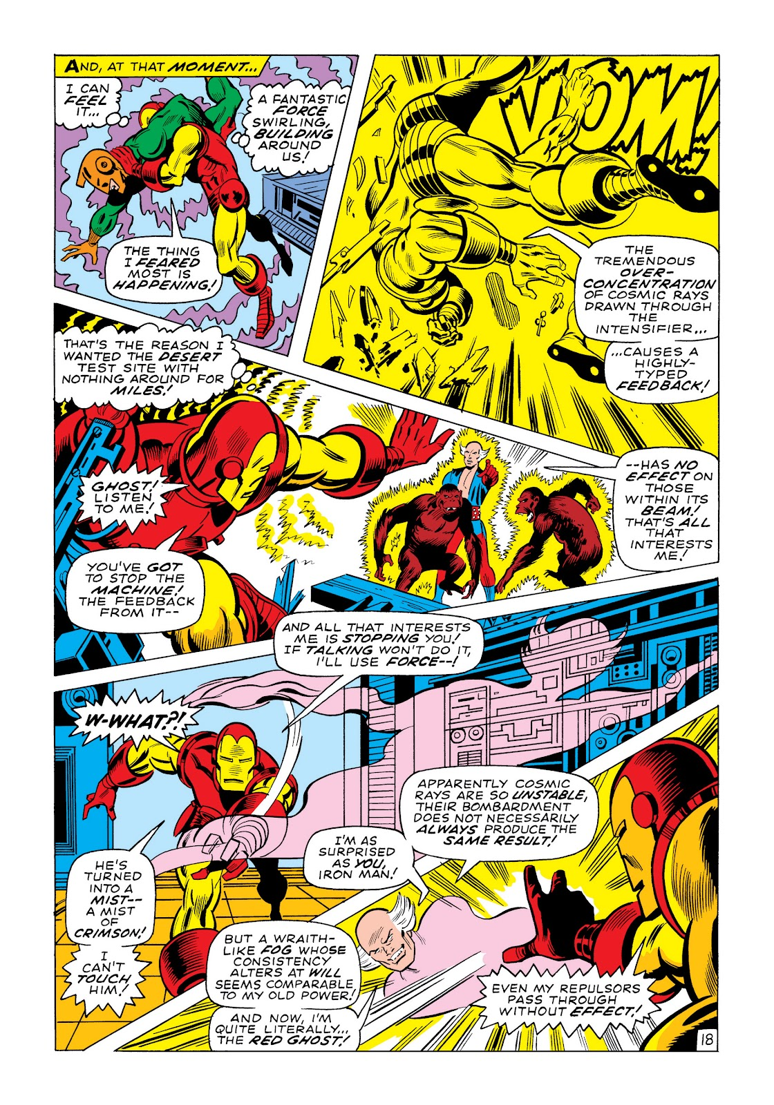 Read online Marvel Masterworks: The Invincible Iron Man comic -  Issue # TPB 6 (Part 1) - 45