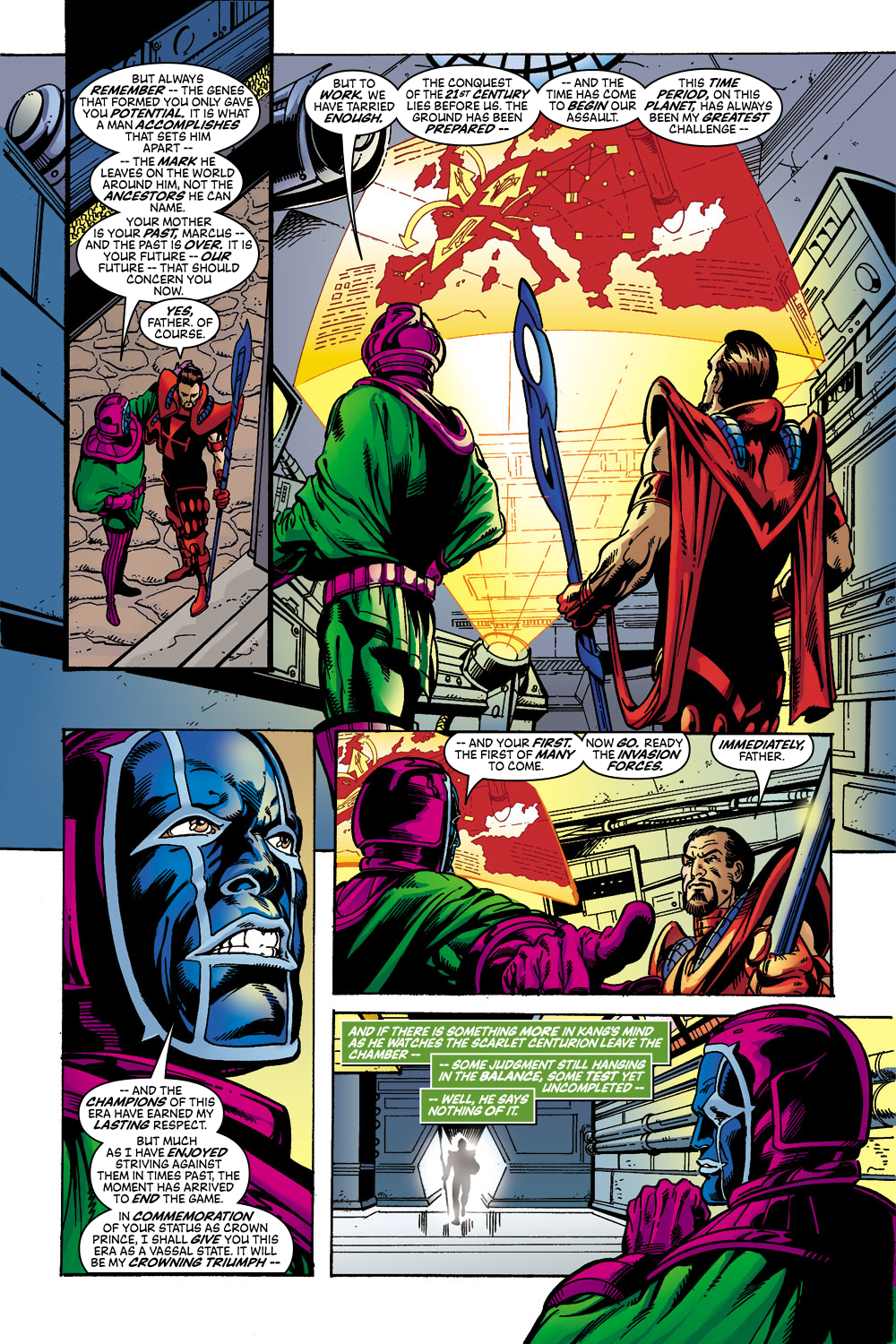Read online Avengers (1998) comic -  Issue #45 - 5