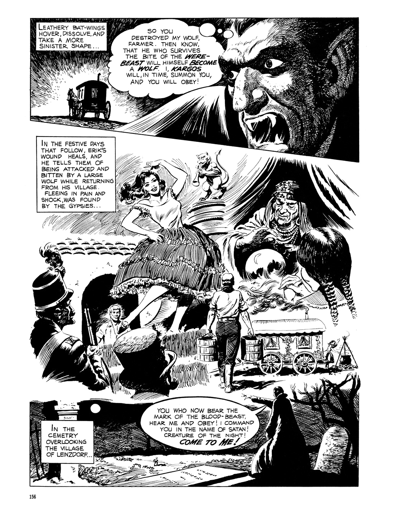 Read online Eerie Archives comic -  Issue # TPB 6 - 156