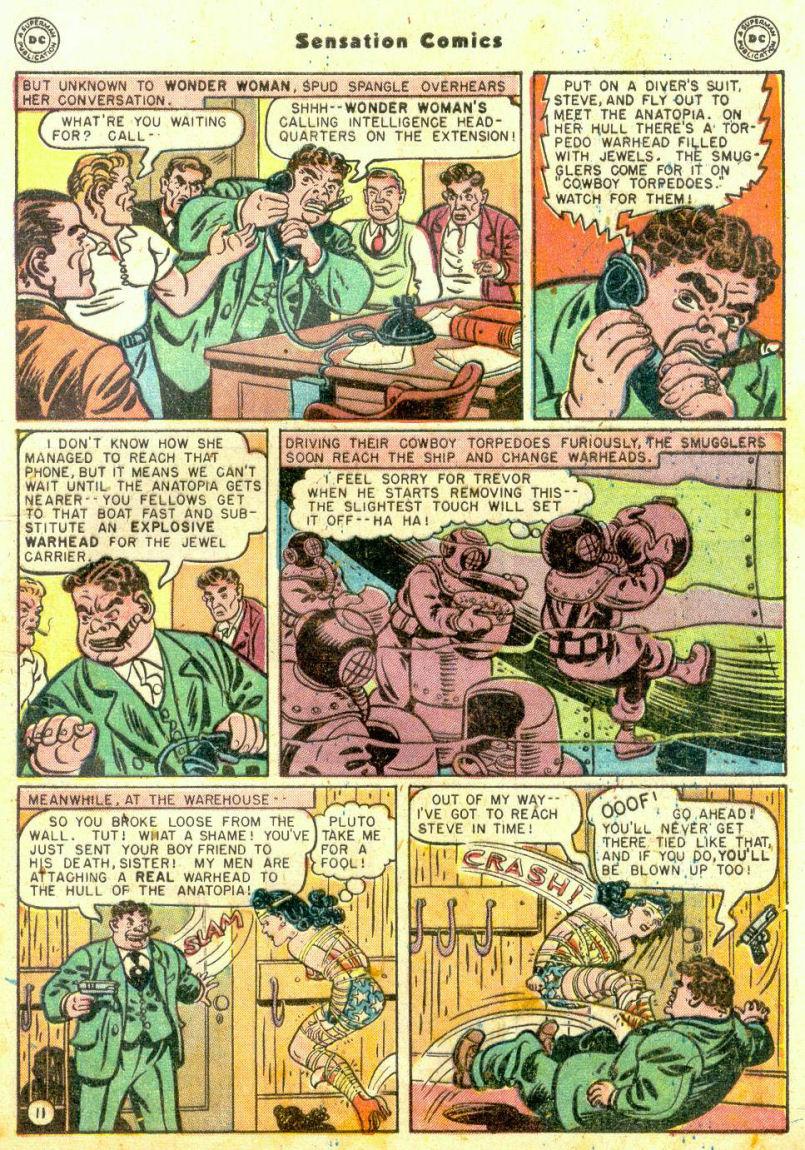 Read online Sensation (Mystery) Comics comic -  Issue #74 - 13