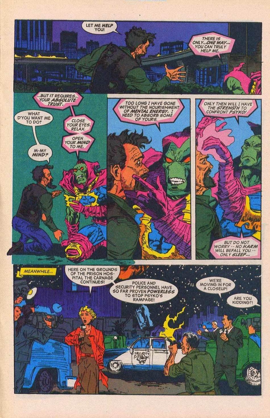 Read online Sleepwalker comic -  Issue #28 - 16