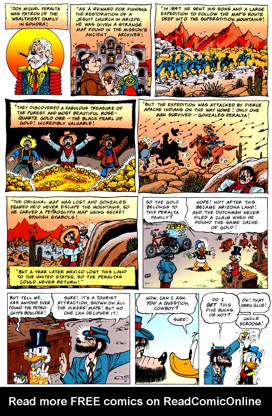 Read online Uncle Scrooge (1953) comic -  Issue #319 - 6
