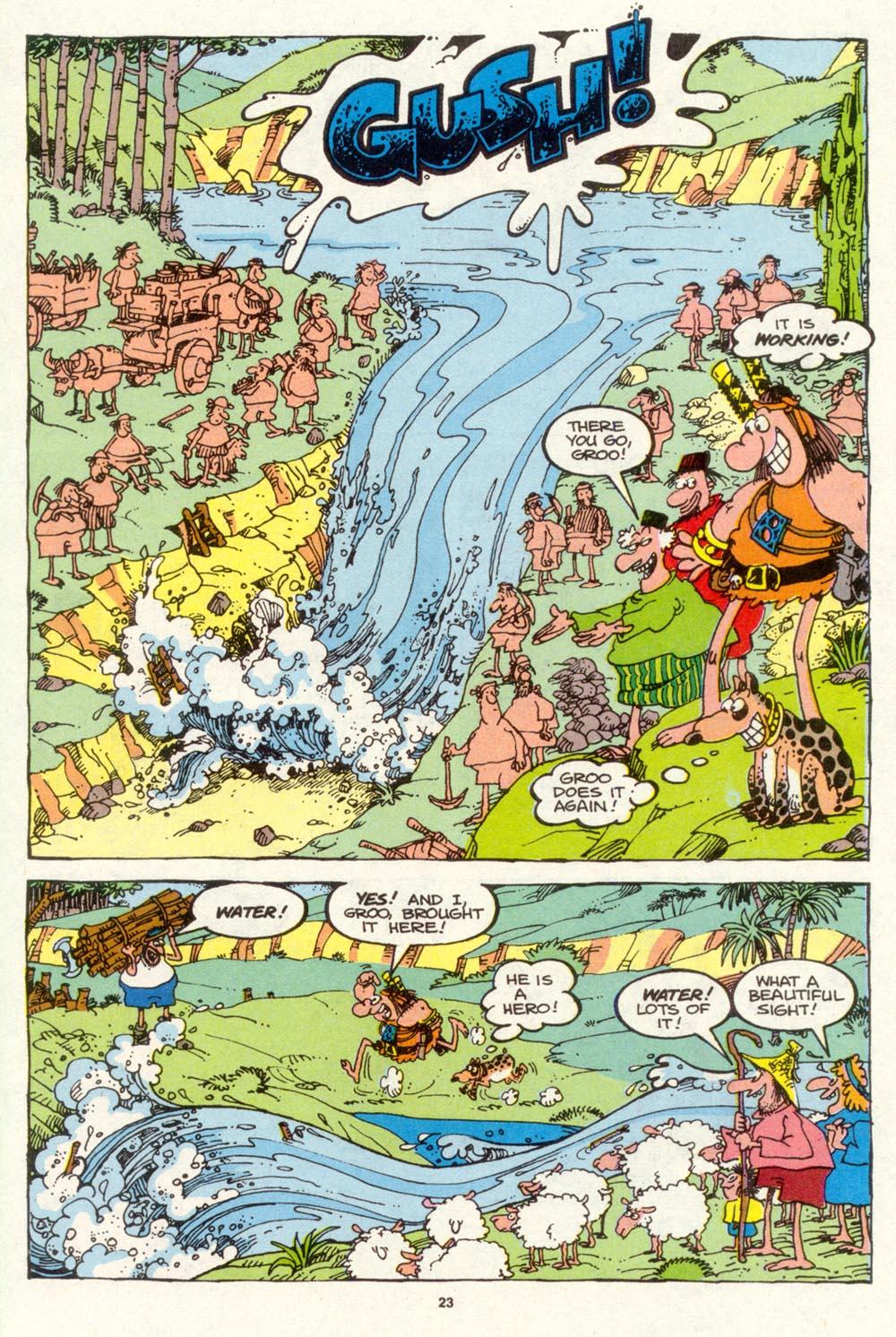 Read online Sergio Aragonés Groo the Wanderer comic -  Issue #94 - 24