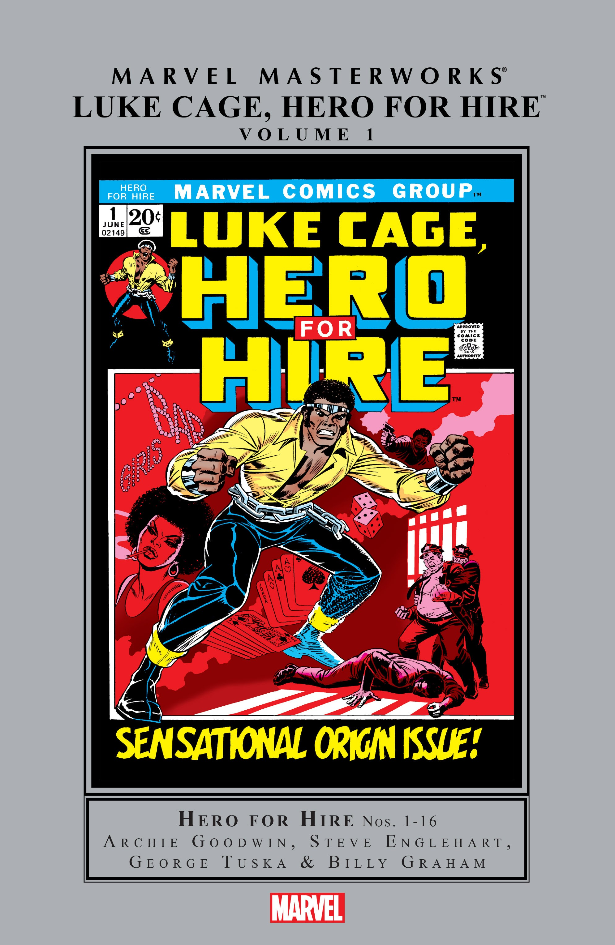 Marvel Masterworks: Luke Cage, Hero For Hire TPB_(Part_1) Page 1