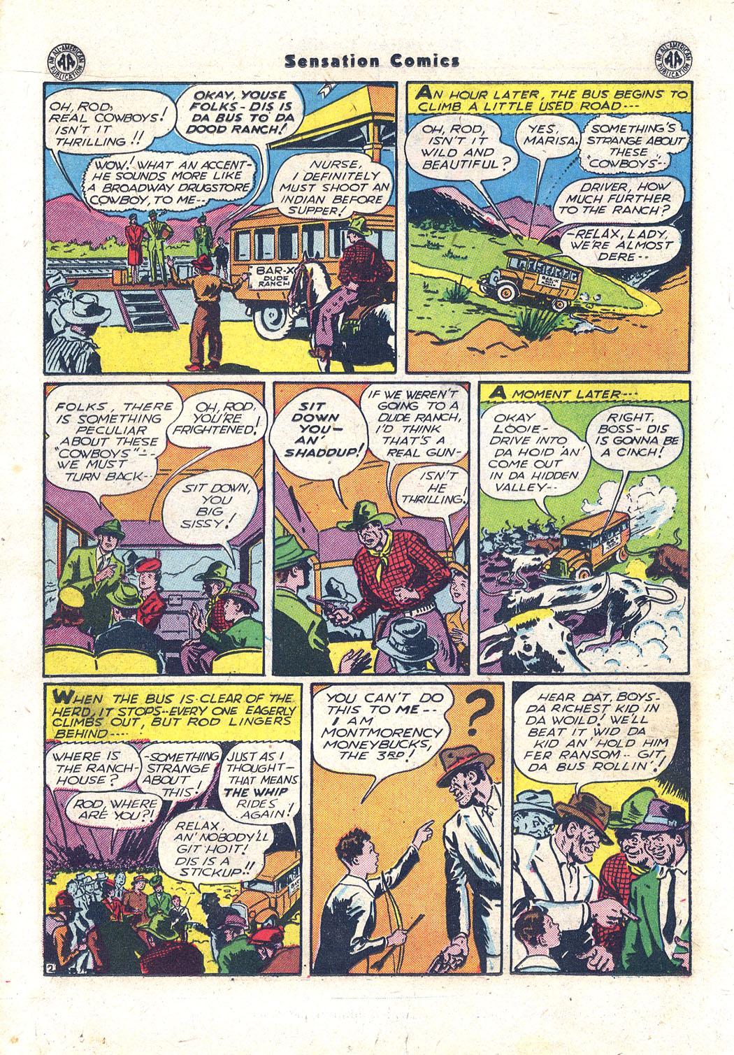 Read online Sensation (Mystery) Comics comic -  Issue #43 - 25