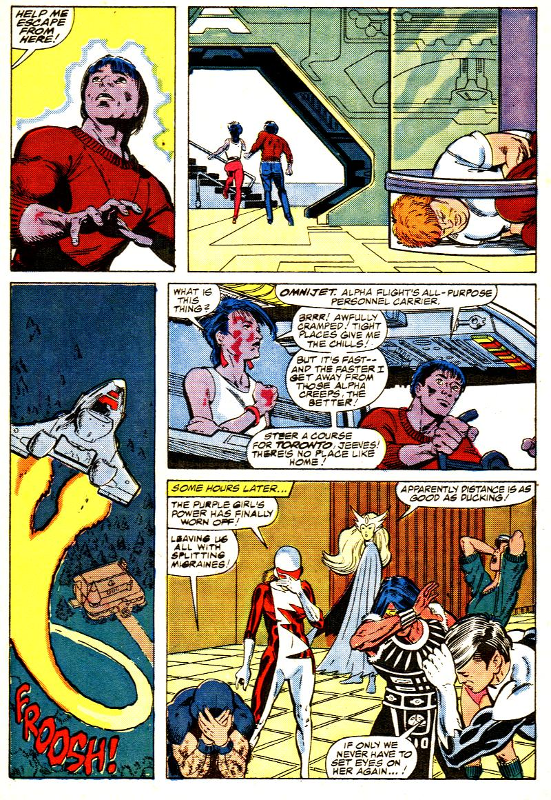 Read online Alpha Flight (1983) comic -  Issue #42 - 8