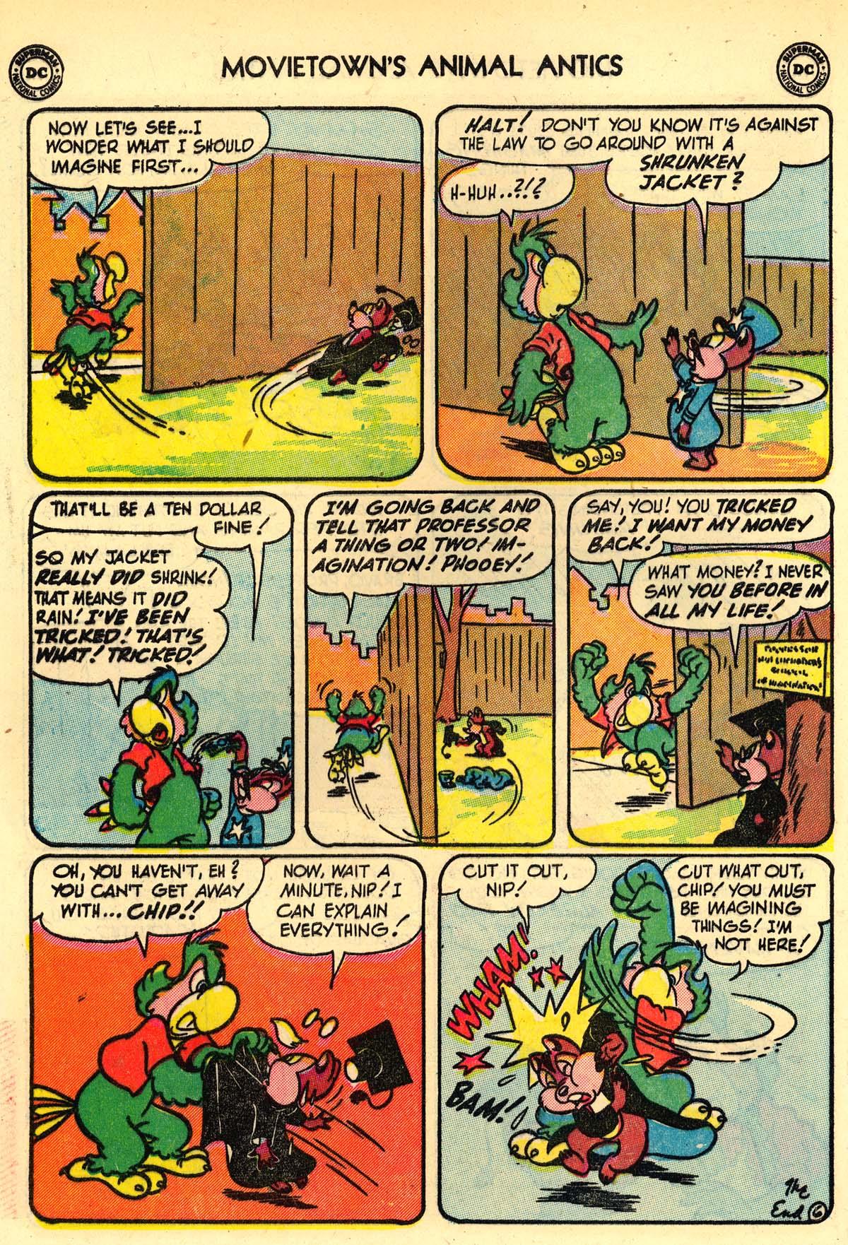 Read online Animal Antics comic -  Issue #33 - 40