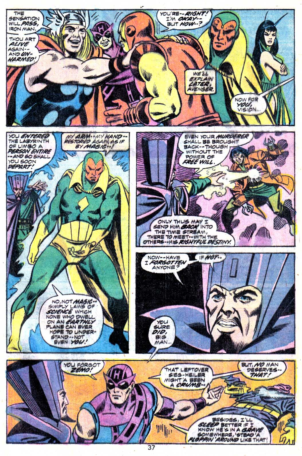 Giant-Size Avengers (1974) issue 3 - Page 39