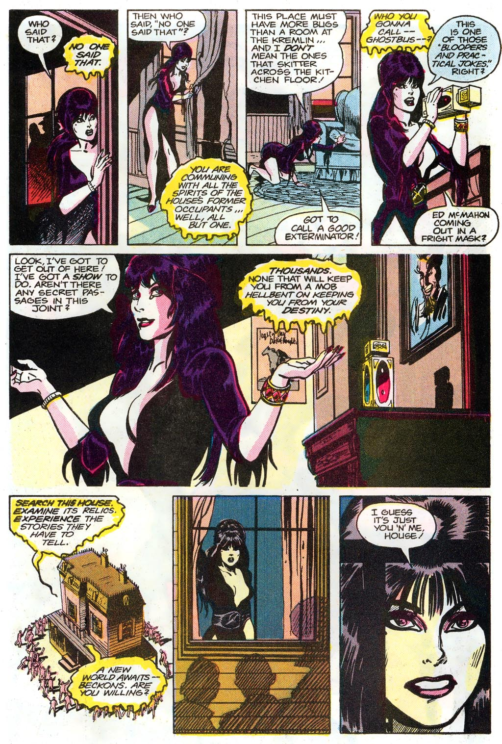 Elvira's House of Mystery Issue #1 #2 - English 5